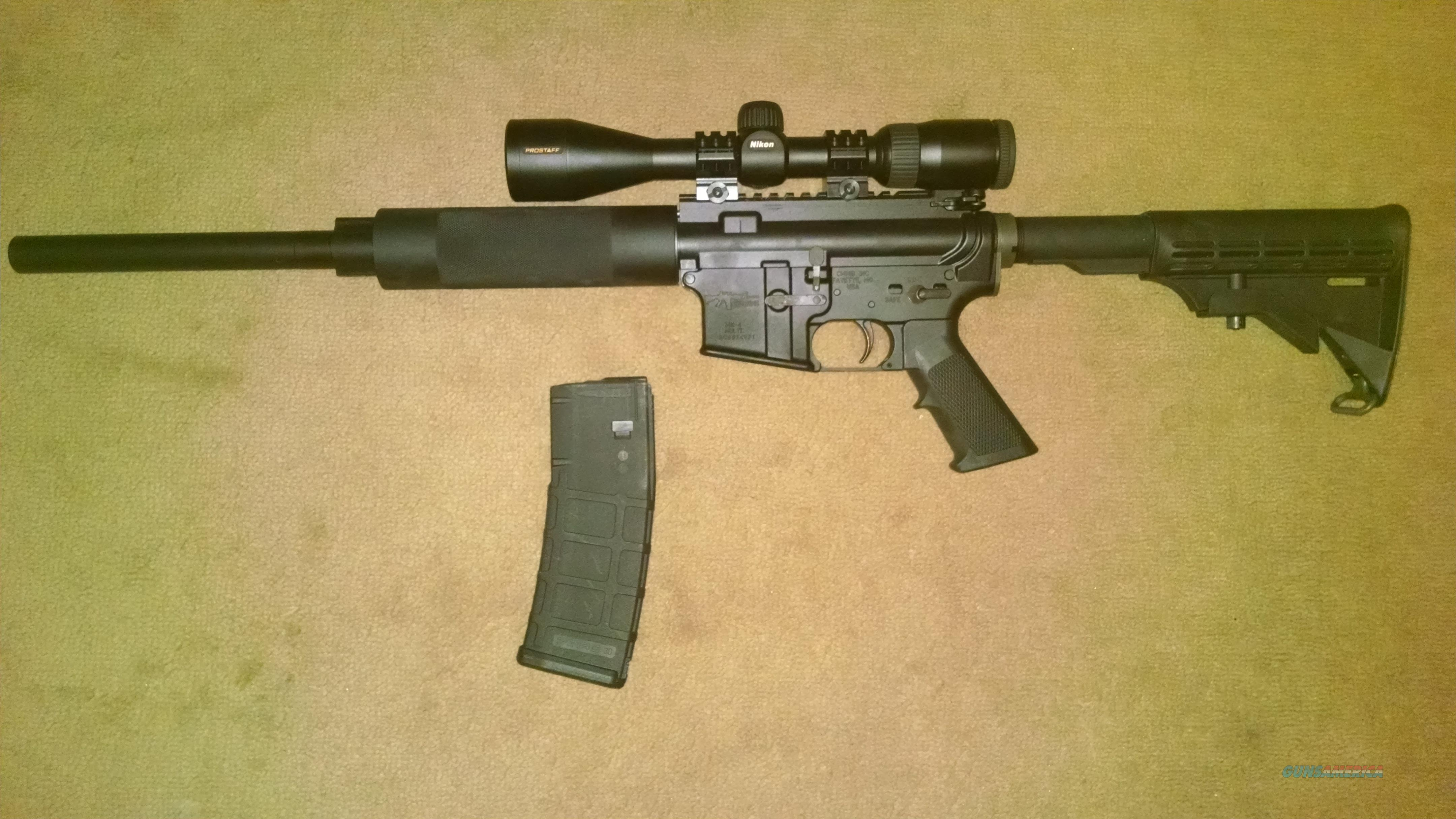 "CMMG AR-15 w/ 16"" WASP treated Bull Barrel  Guns > Rifles > AR-15 Rifles - Small Manufacturers > Complete Rifle"
