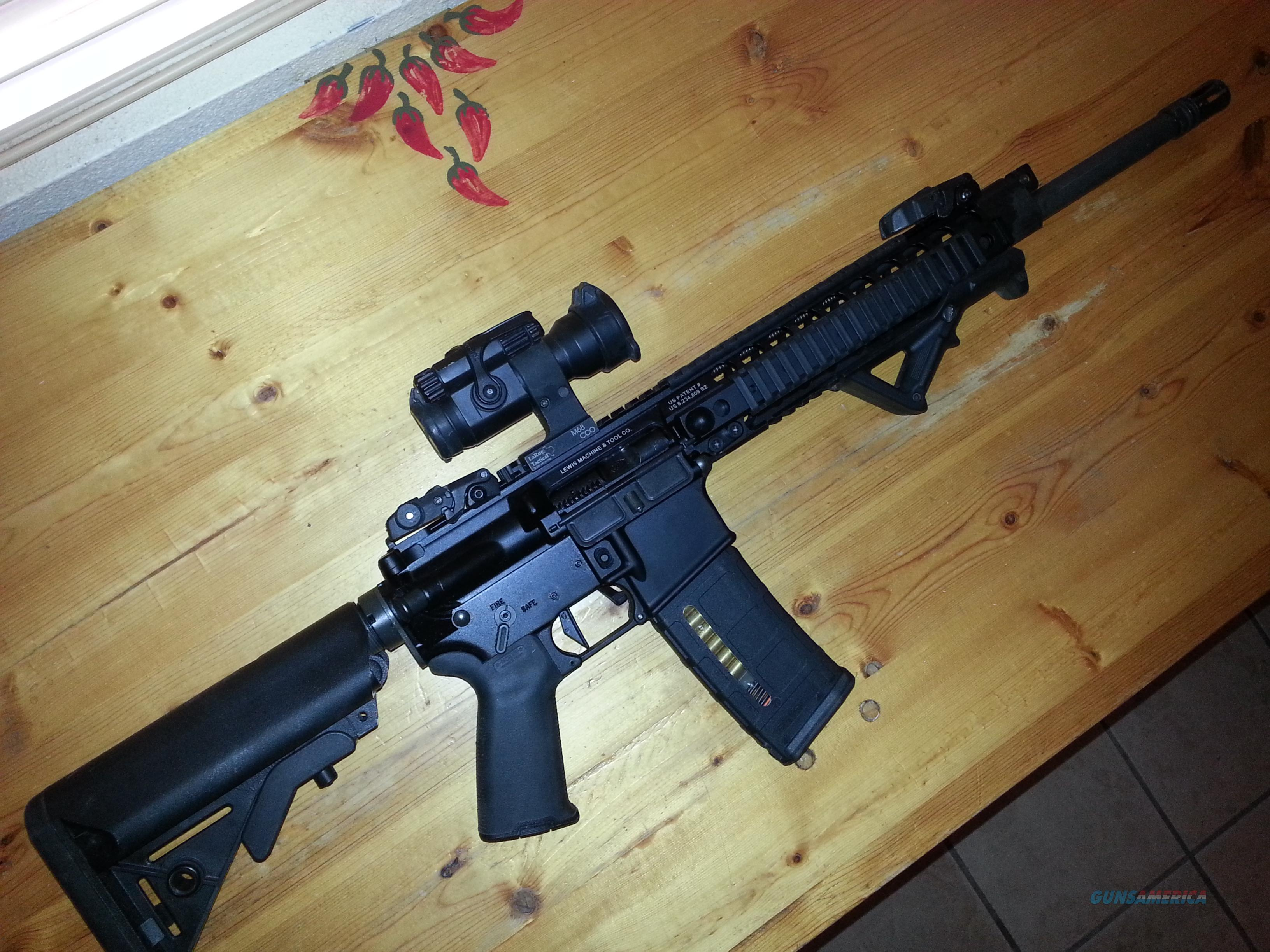 Lewis Machine & Tool M4, piston-monolithic forend  Guns > Rifles > Tactical Rifles Misc.