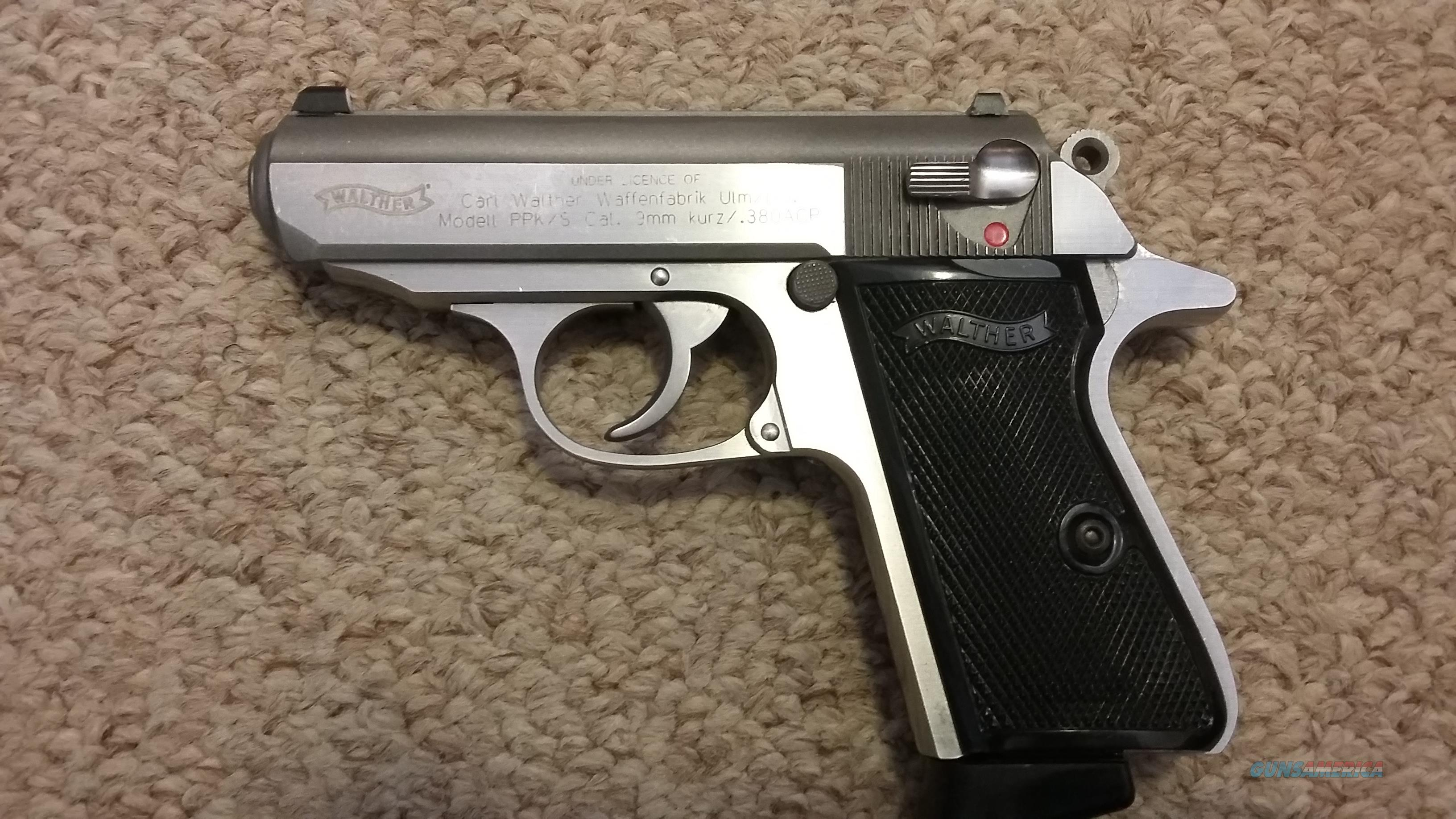 Walther PPKs. 380 with extras  Guns > Pistols > Walther Pistols > Post WWII > PPK Series