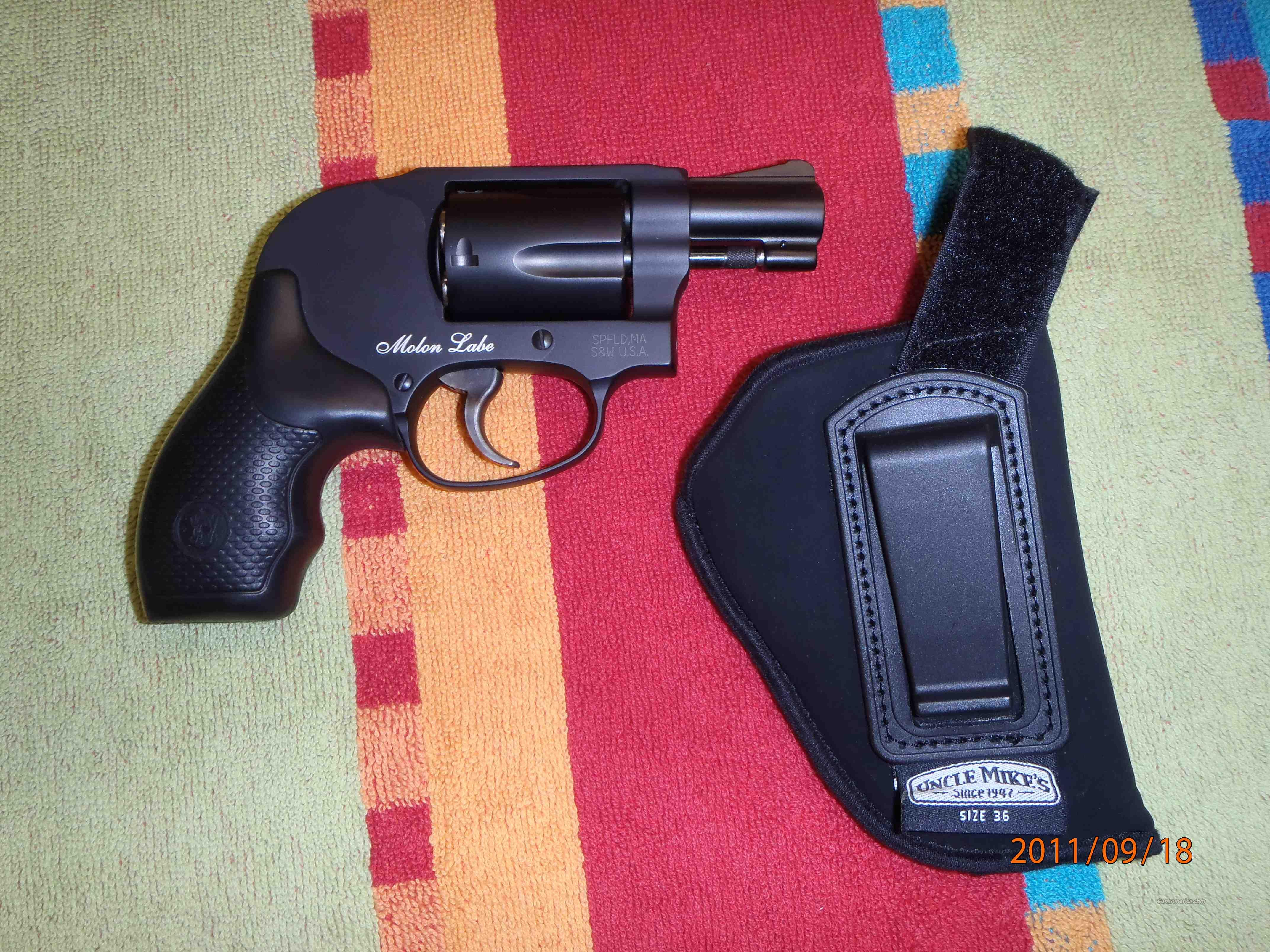 Smith & Wesson Model 438 38 +P Special  Guns > Pistols > Smith & Wesson Revolvers > Pocket Pistols
