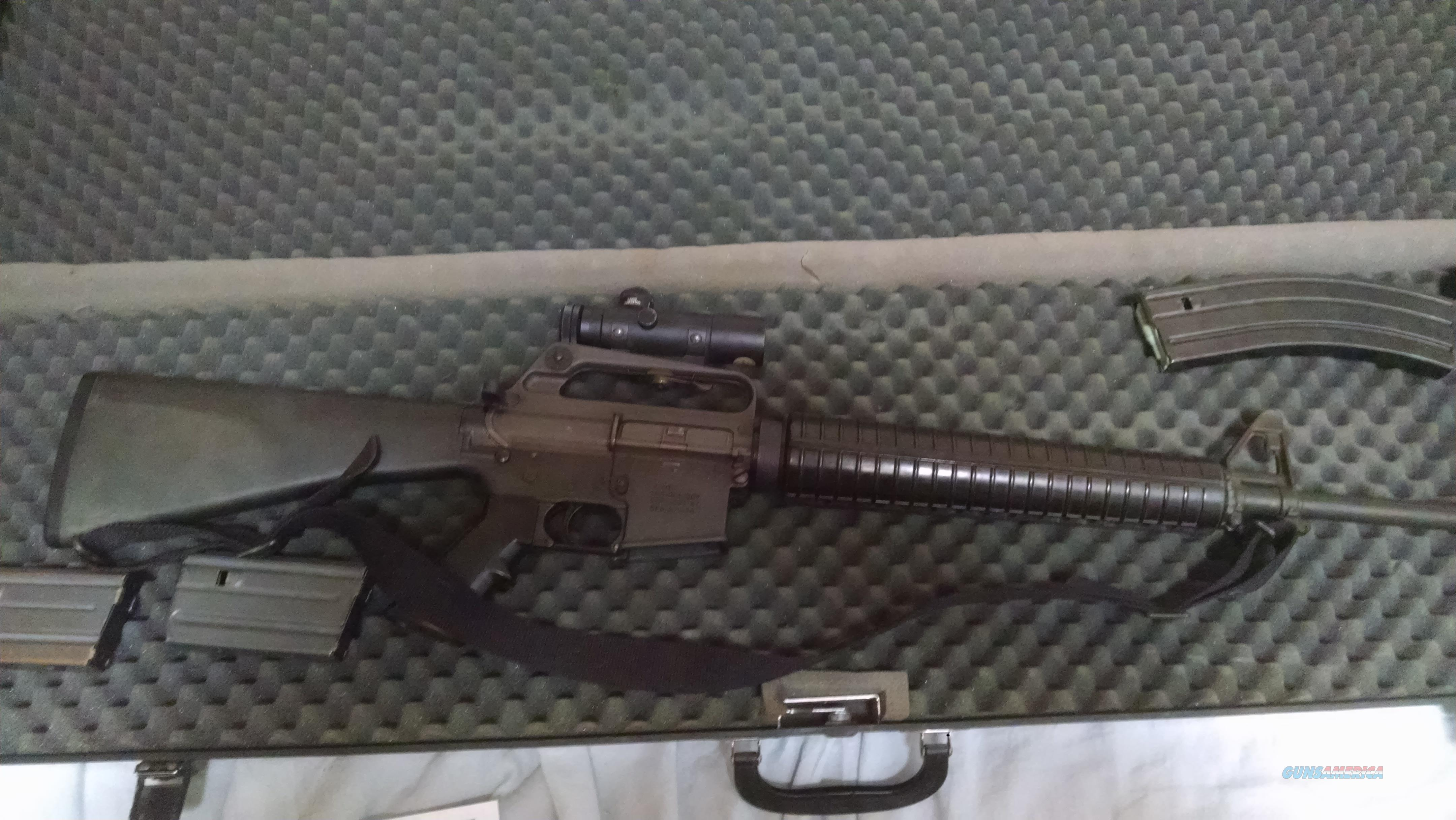 Colt AR15 A2 Sporter II Full Auto  Guns > Rifles > Colt Military/Tactical Rifles