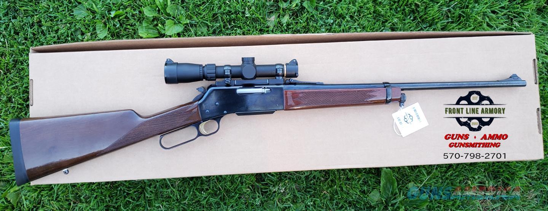 Browning BLR rifle, 308WIN w/Leupold 1.5-4x  Mint.  Guns > Rifles > Browning Rifles > Lever Action
