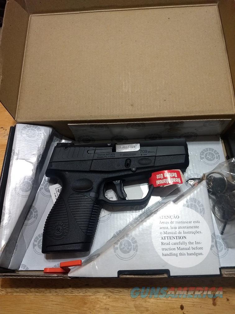 Taurus 709 in 9mm  Guns > Pistols > Taurus Pistols > Semi Auto Pistols > Polymer Frame