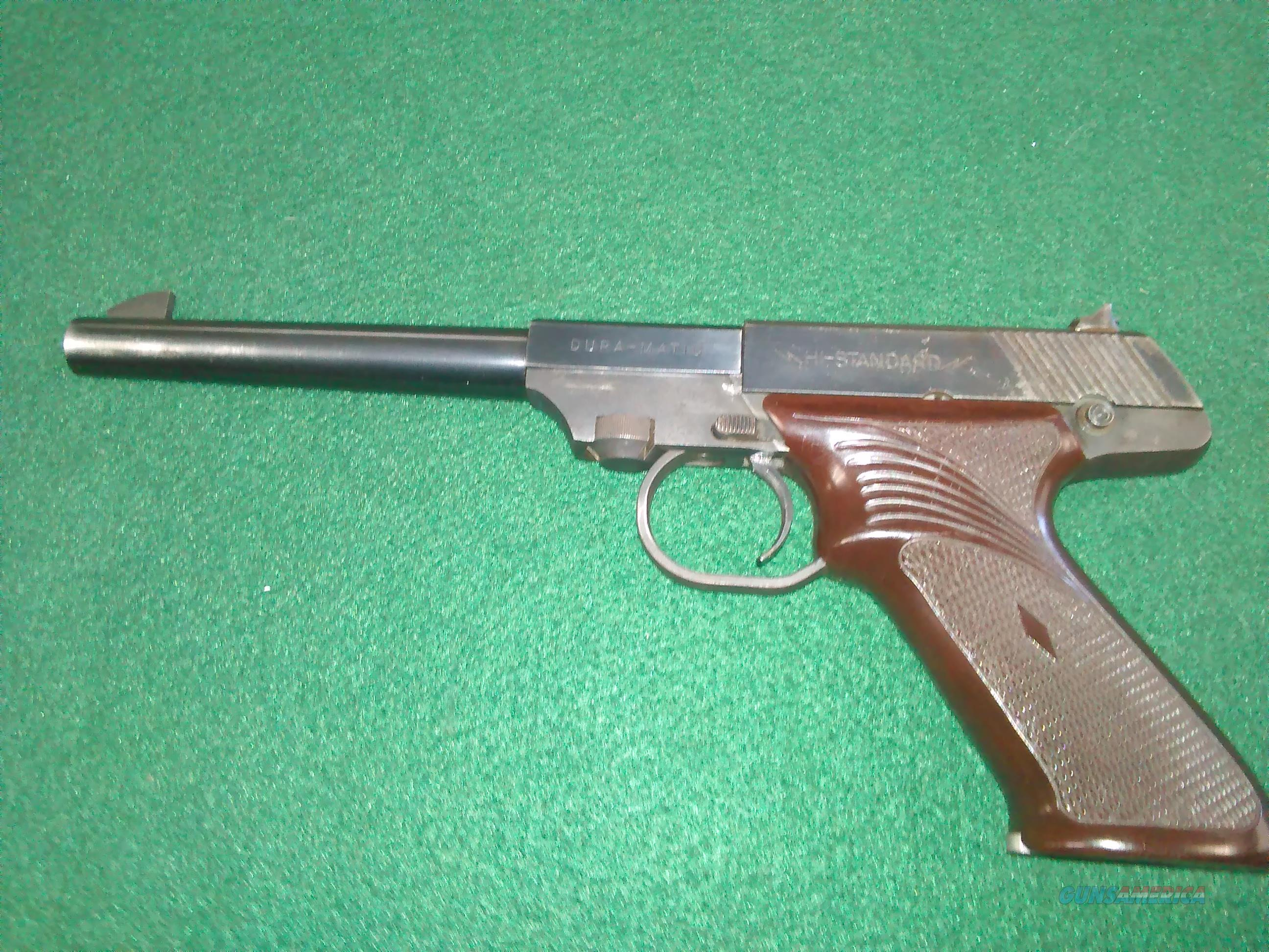 HIGH STANDARD MODEL M-100 MANUFACTURED 1954  Guns > Pistols > High Standard Pistols