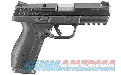 "RUGER AMERICAN 9MM 4.2"" 17RD BLK  Guns > Pistols > Ruger Semi-Auto Pistols > American Pistol"