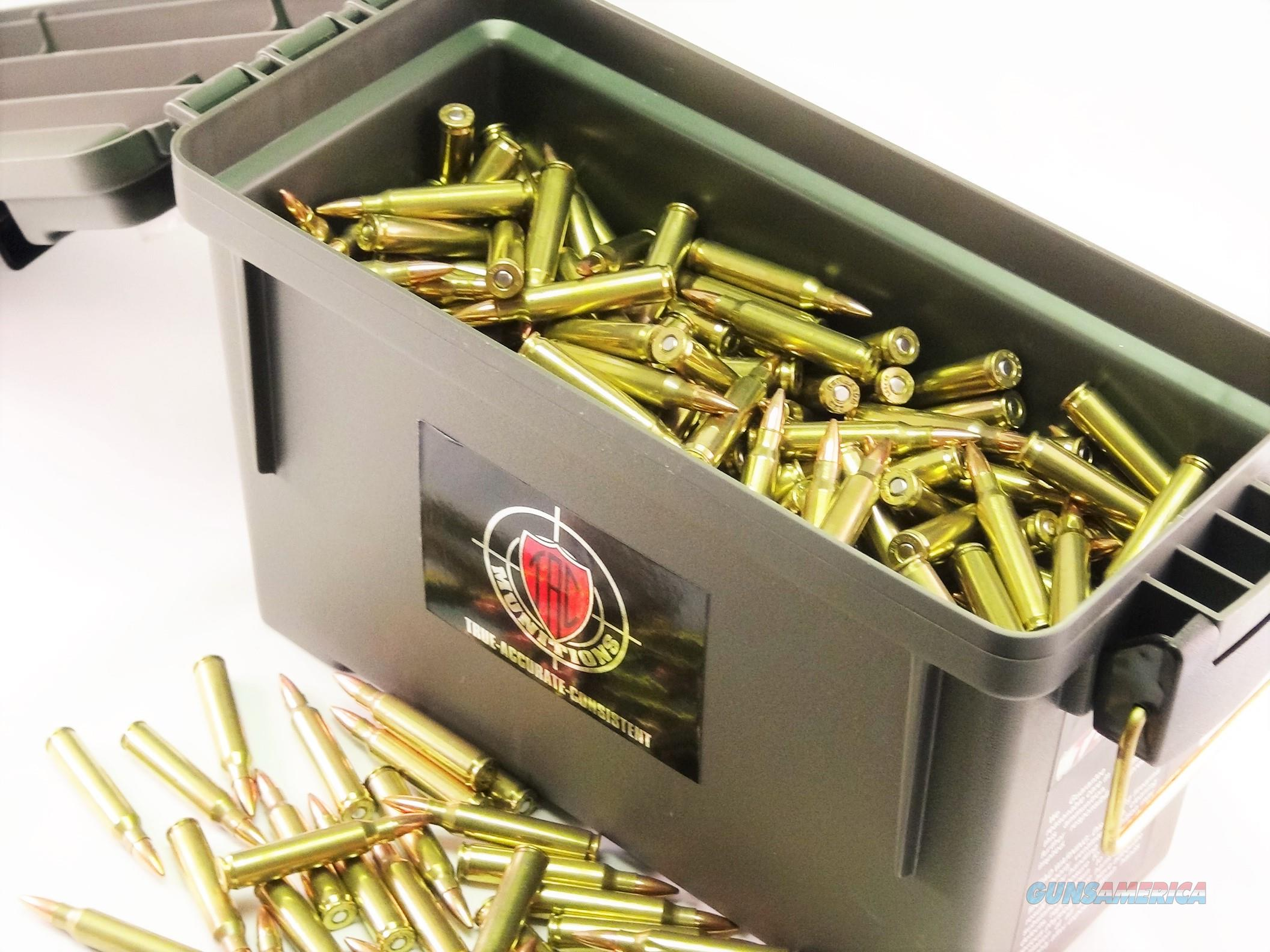 TAC Ammo .223 FMJ-BT 55grain - 500 Rounds  Non-Guns > Ammunition