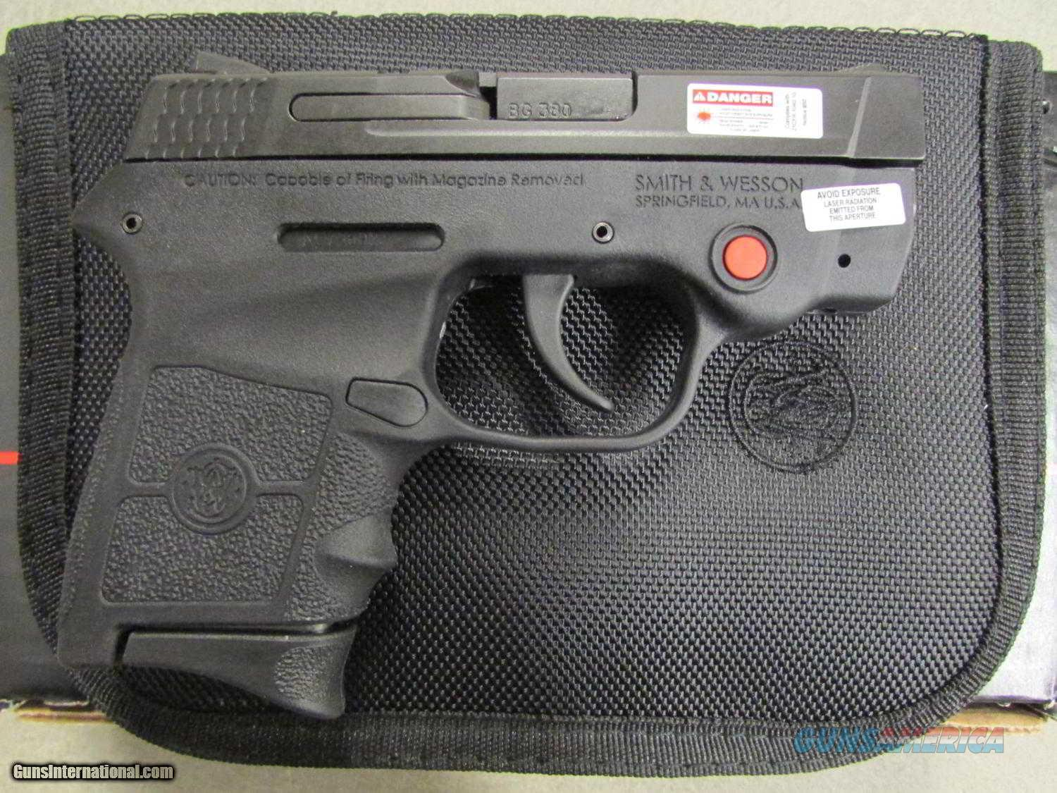 "S&W BODYGUARD 380 6RD 2.75"" CMT LSR BLK  Guns > Pistols > Smith & Wesson Pistols - Autos > Polymer Frame"