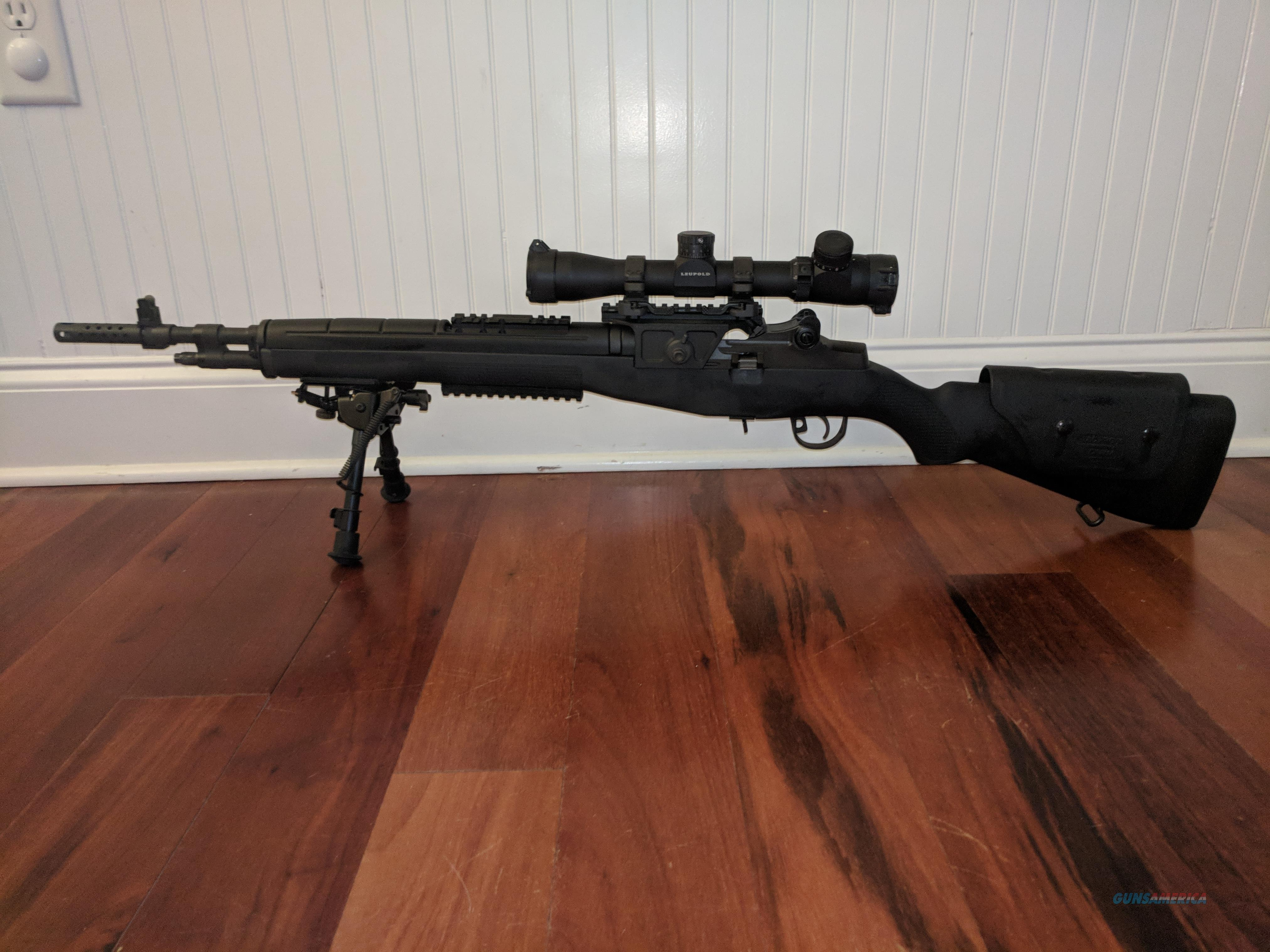 Custom Springfield M1A Scout Squad 7.62/.308  Guns > Rifles > Springfield Armory Rifles > M1A/M14