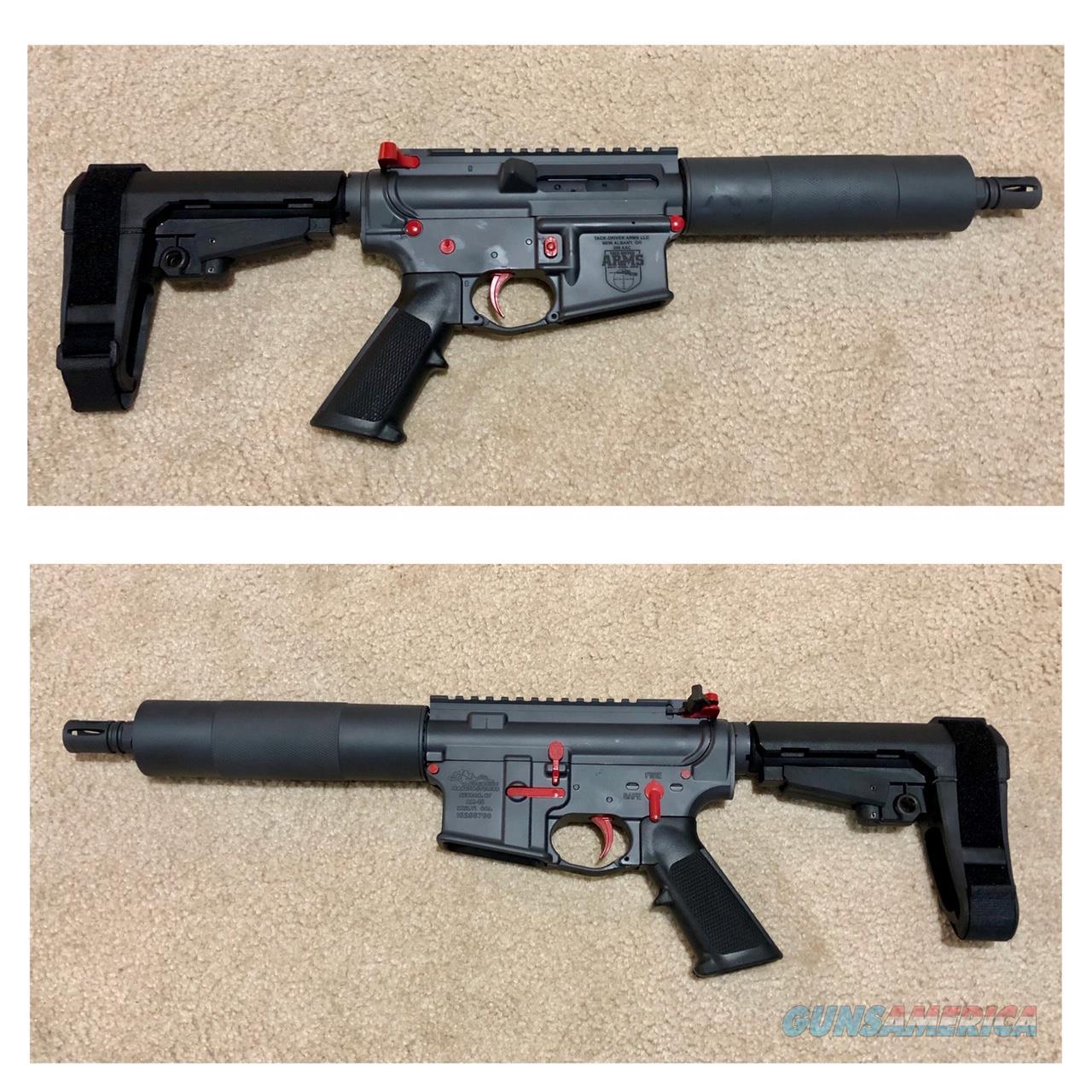 Custom Built 300 Blackout PISTOL w/ Custom Cerakote Scheme  Guns > Rifles > Custom Rifles > AR-15 Family