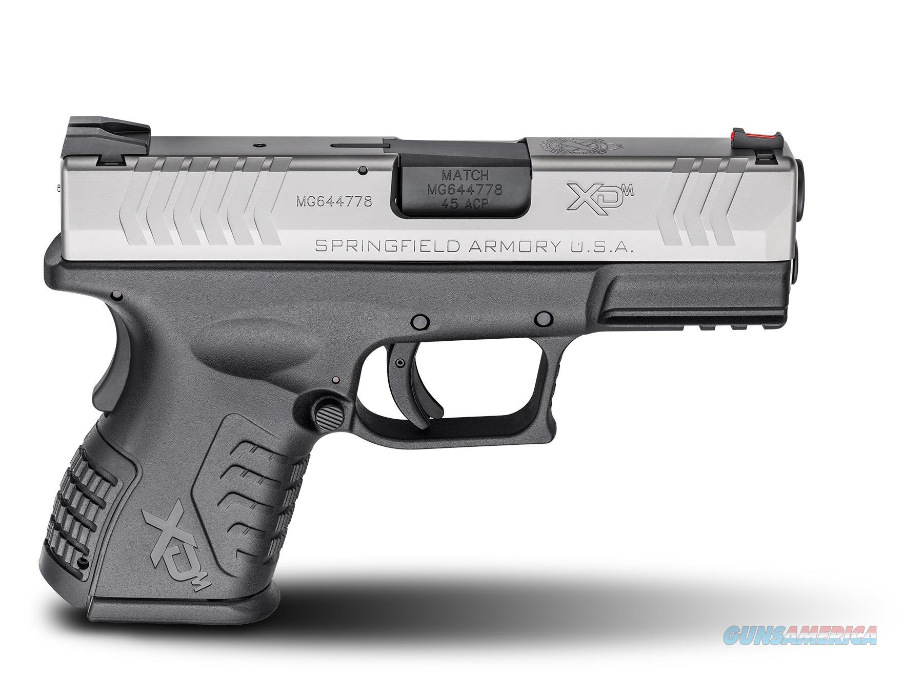 "Springfield XD(M) 3.8"" Compact 45  Guns > Pistols > Springfield Armory Pistols > XD-M"