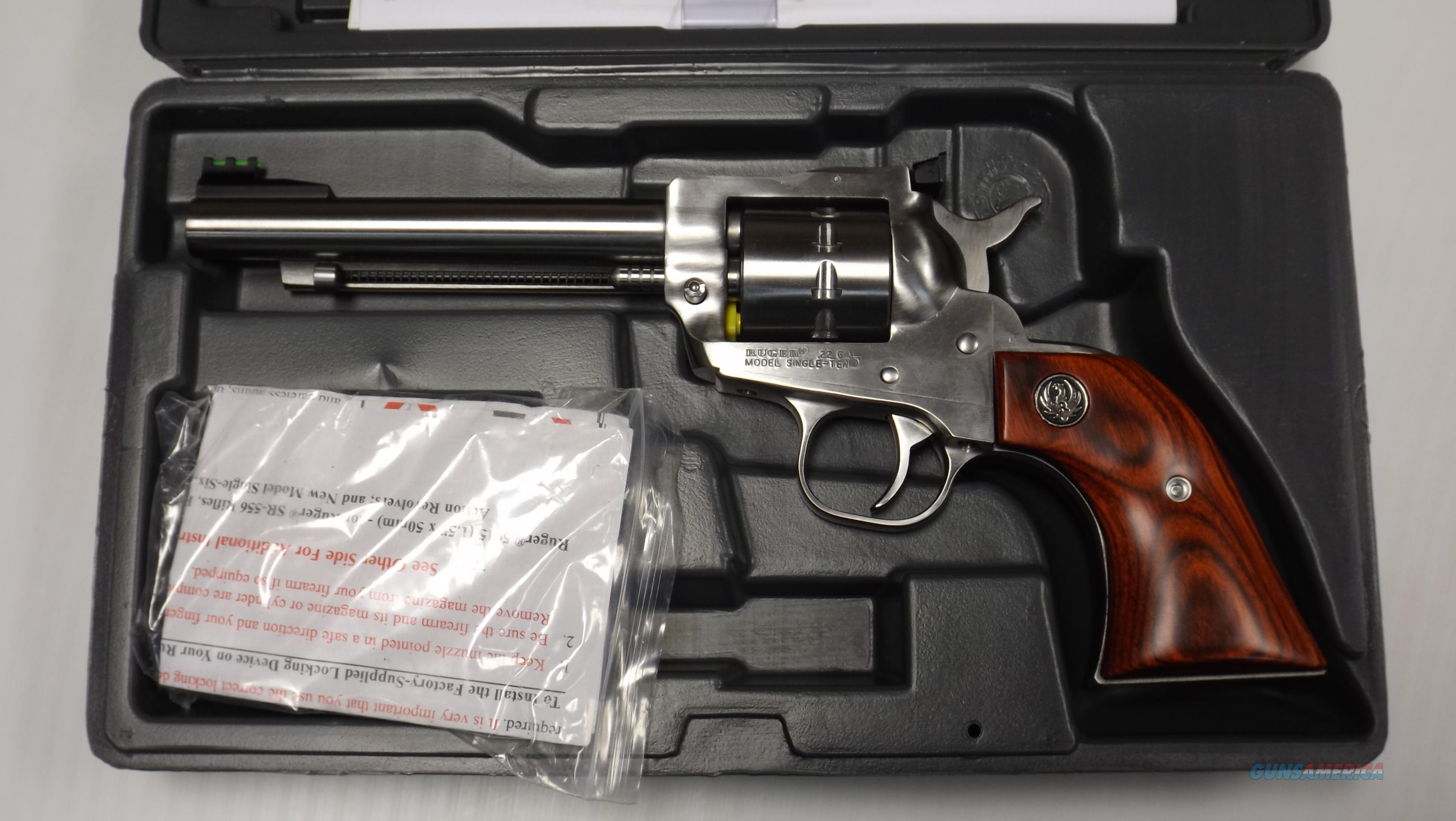 Ruger 8100 Single Ten SS Wood BRAND NEW  Guns > Pistols > Ruger Single Action Revolvers > Single Six Type