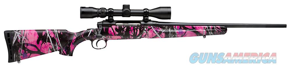 Savage 19976 Muddy Girl Camo 243 Youth BRAND NEW  Guns > Rifles > Savage Rifles > Axis