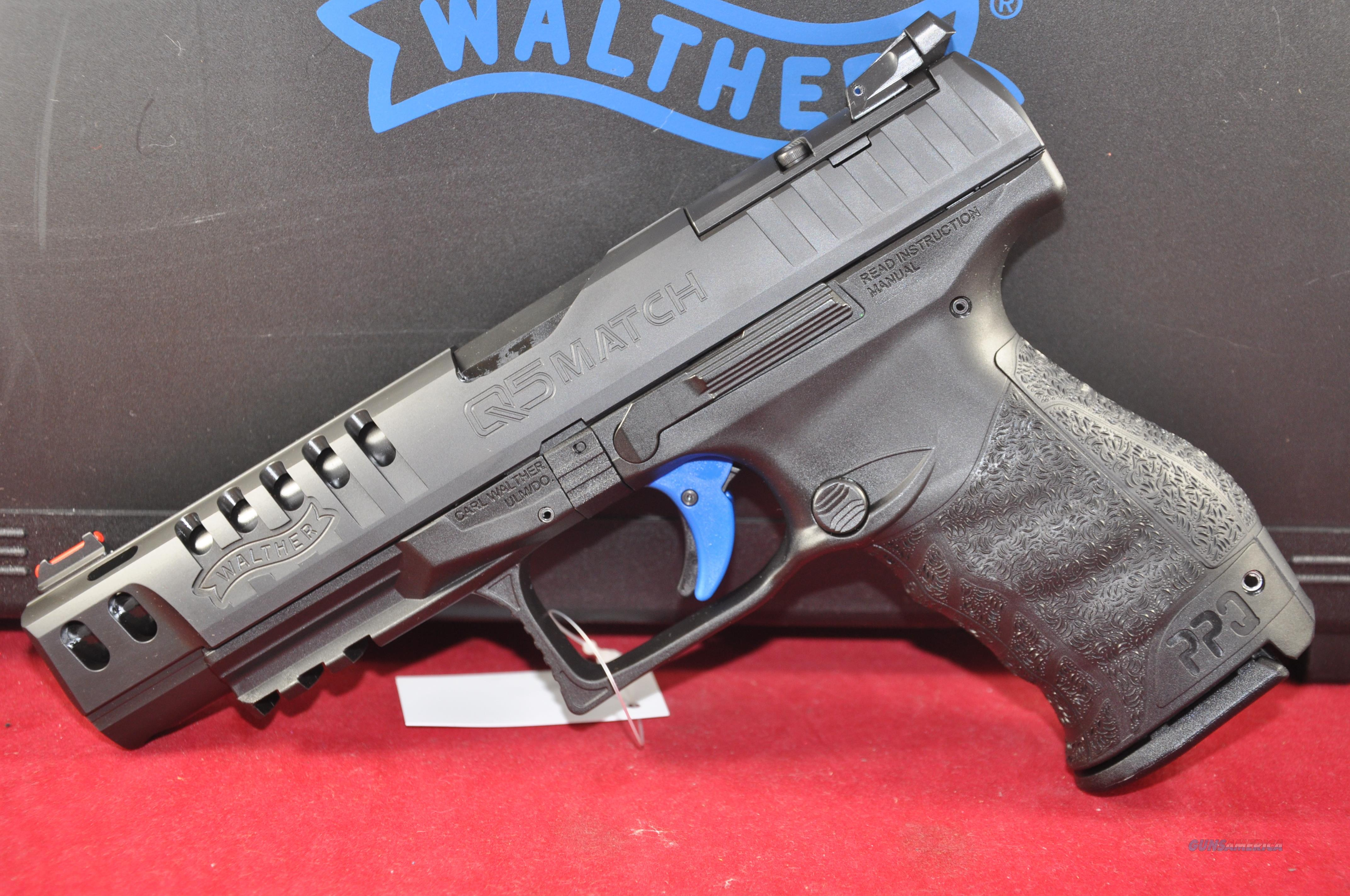 Walther Q5 Match 9mm 15+1 Layaway NoCCFee 2813335  Guns > Pistols > Walther Pistols > Post WWII > P99/PPQ