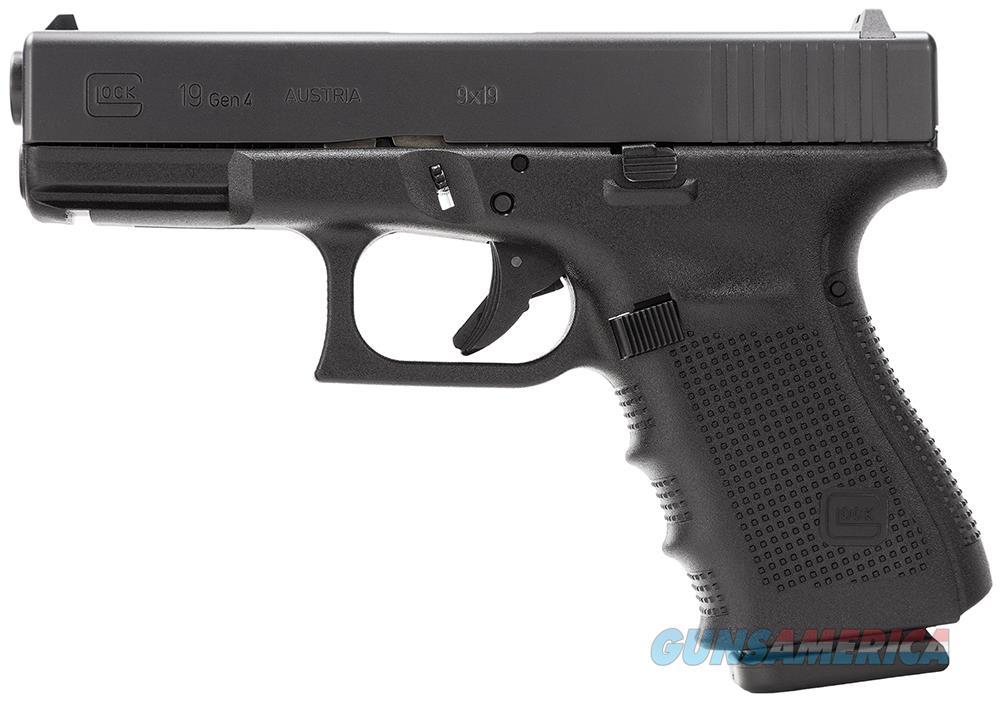 Glock 19 Gen4 9mm 15+1 Layaway NoCCFee PG1950203  Guns > Pistols > Glock Pistols > 19