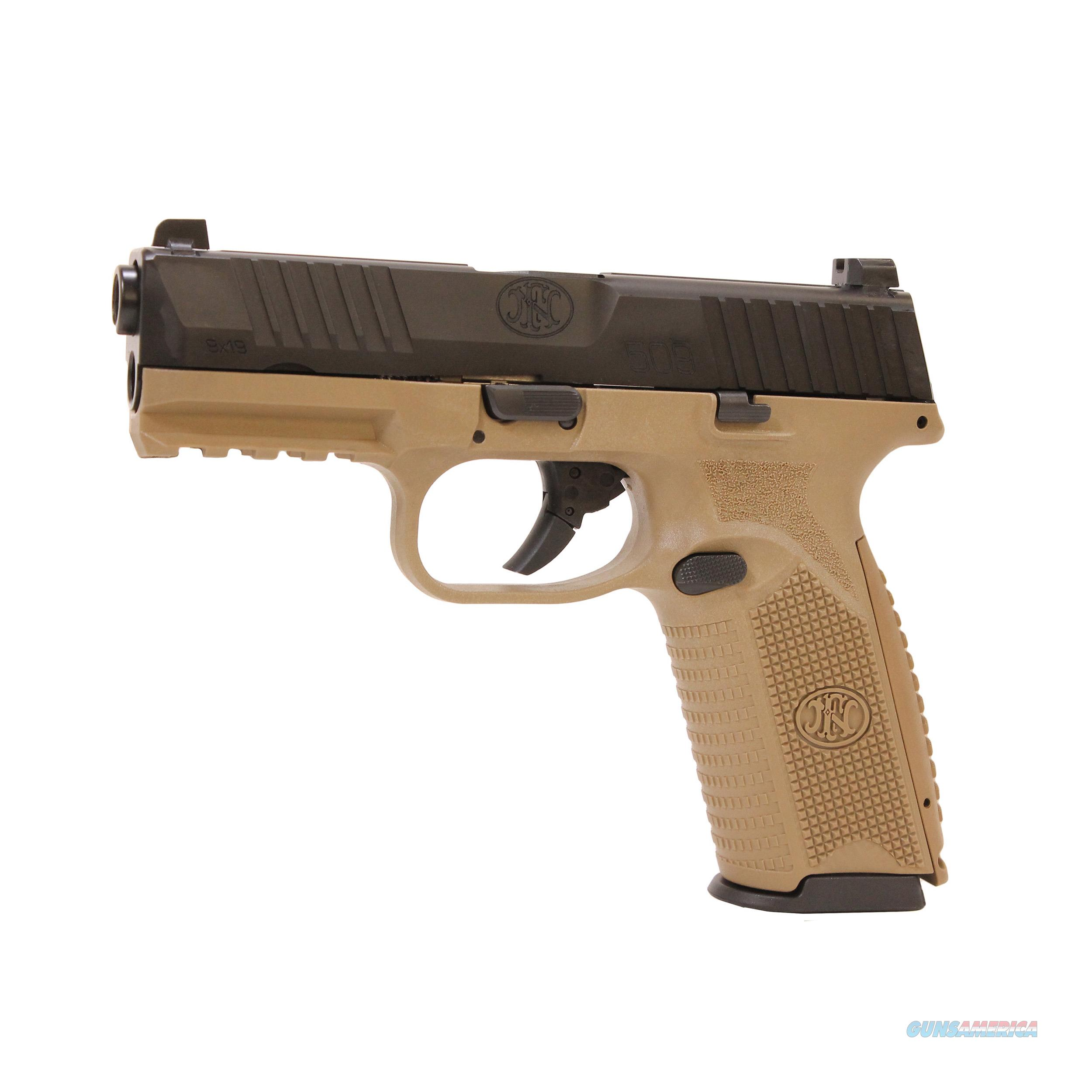 "FN FN-509 9mm FDE 17+1 4"" Layaway NoCCFee 66100357  Guns > Pistols > FNH - Fabrique Nationale (FN) Pistols > FN 509"