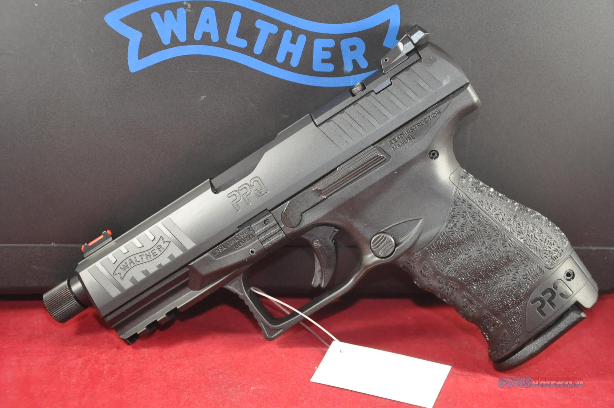 Walther PPQ M2 Q4 Tactical TB 9mm Layaway NoCCFee 2825929  Guns > Pistols > Walther Pistols > Post WWII > P99/PPQ