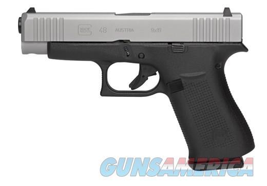 "Glock G48 9mm 10+1 4"" Silver Slide NoCCFee Layaway  Guns > Pistols > Glock Pistols > 19/19X"