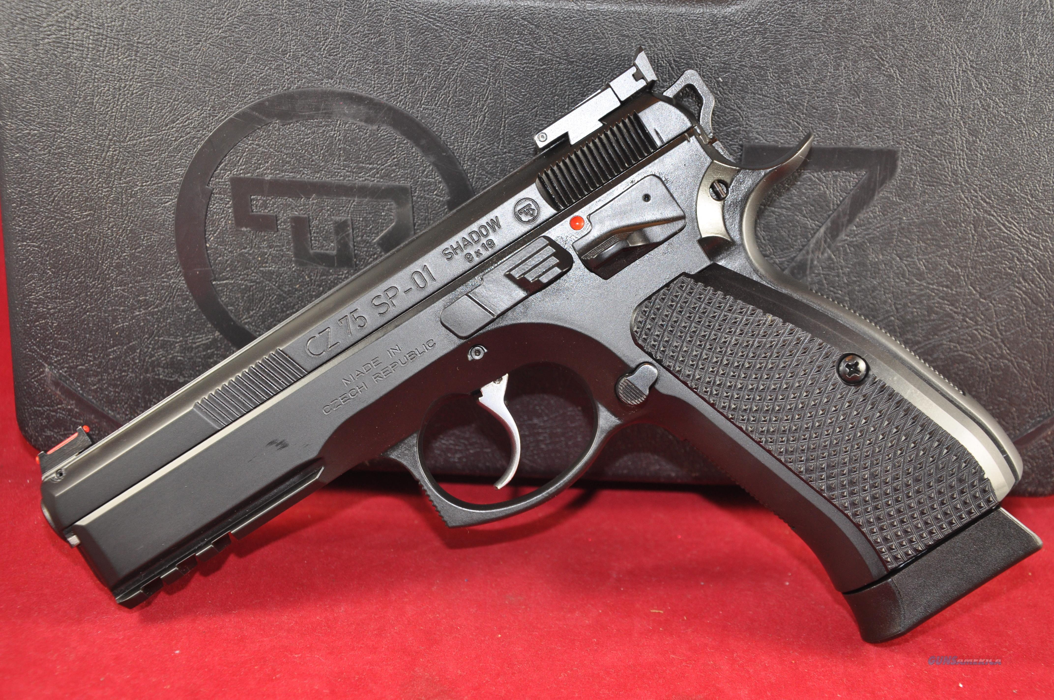 """CZ75 SP01 Shadow Target II 9mm 5"""" Layaway NoCCFee 91760   Guns > Pistols > CZ Pistols"""