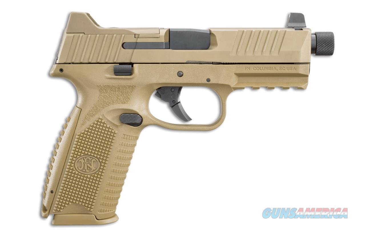 FN 509 Tactical 9mm FDE 24+1 TB NS Layaway NoCCFee 66100373  Guns > Pistols > FNH - Fabrique Nationale (FN) Pistols > FN 509