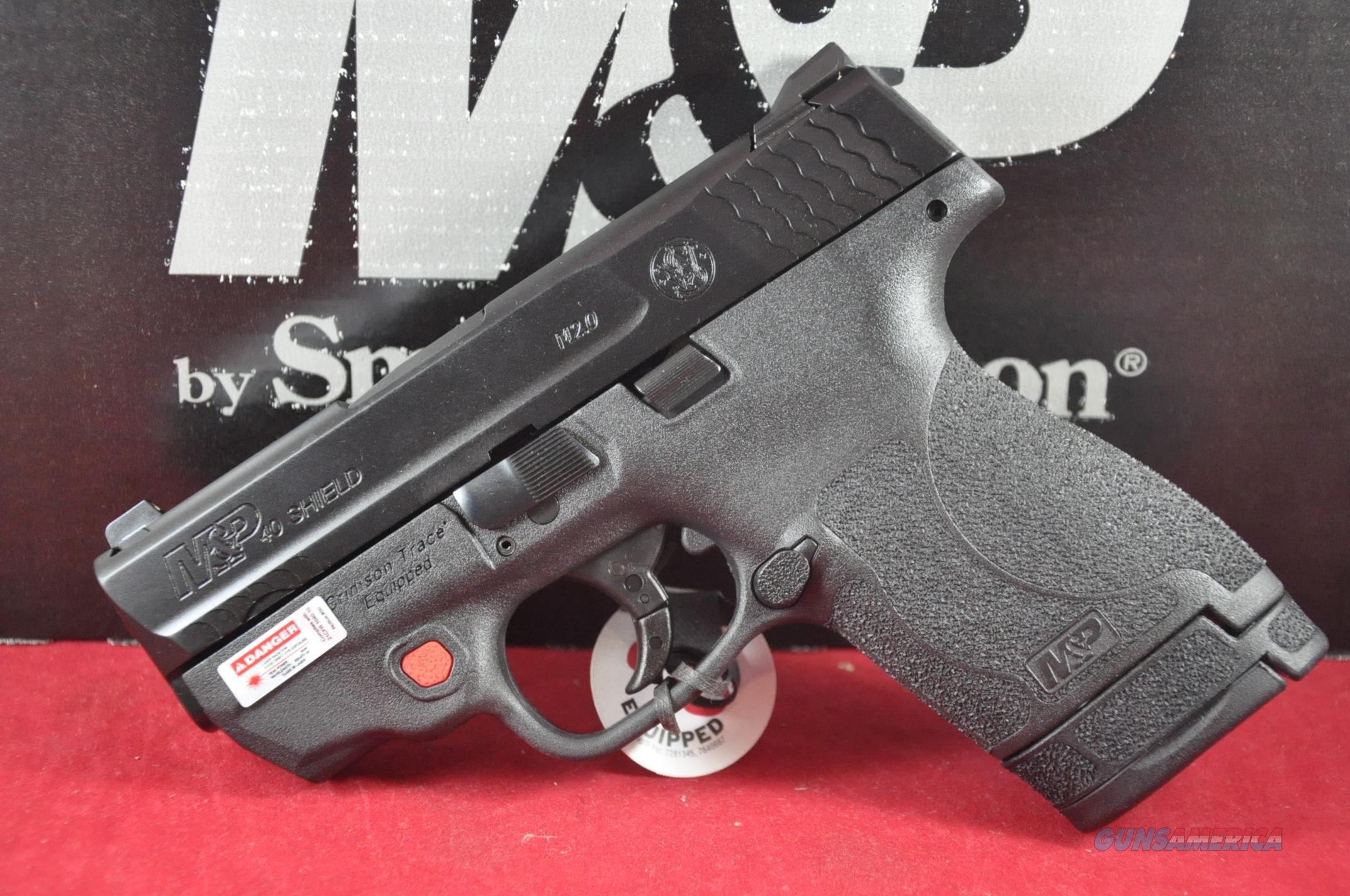 S&W M&P40 Shield M2.0 40S&W CT Laser NoCCFee 11674  Guns > Pistols > Smith & Wesson Pistols - Replica
