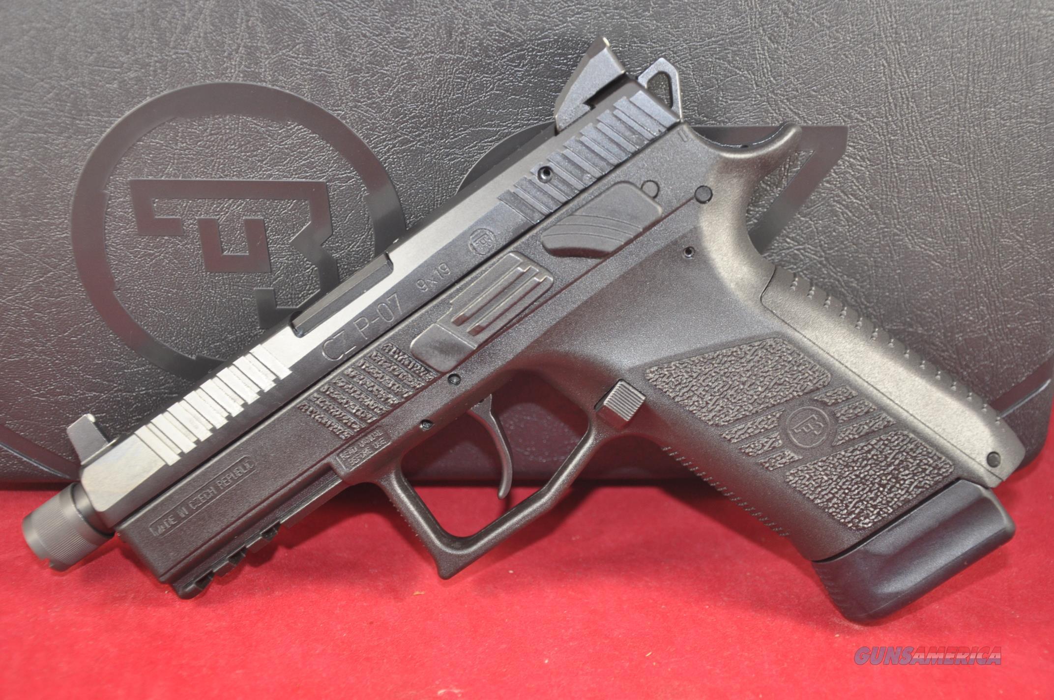 CZ P-07 P07 Black 9mm NS TB 17+1 Layaway NoCCFee 91289  Guns > Pistols > CZ Pistols