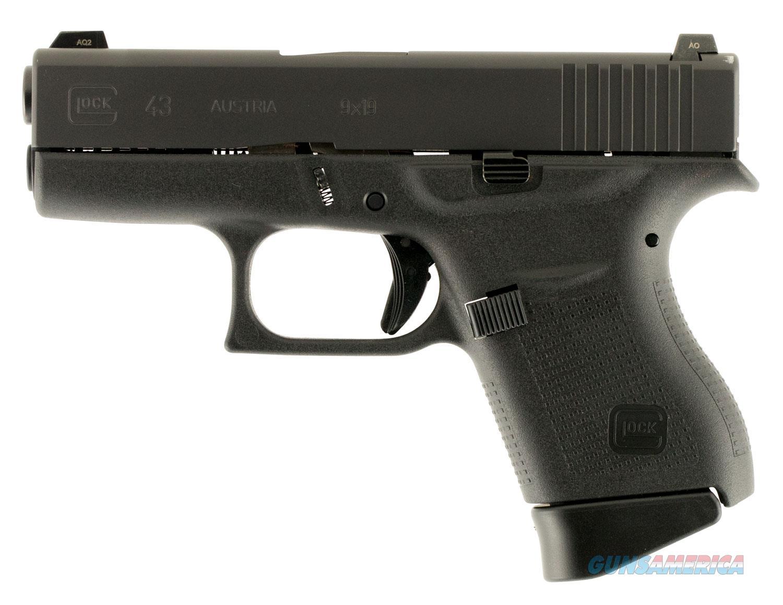 Glock 43 9mm GNS 6+1 Layaway NoCCFee PN4350701 G43  Guns > Pistols > Glock Pistols > 43