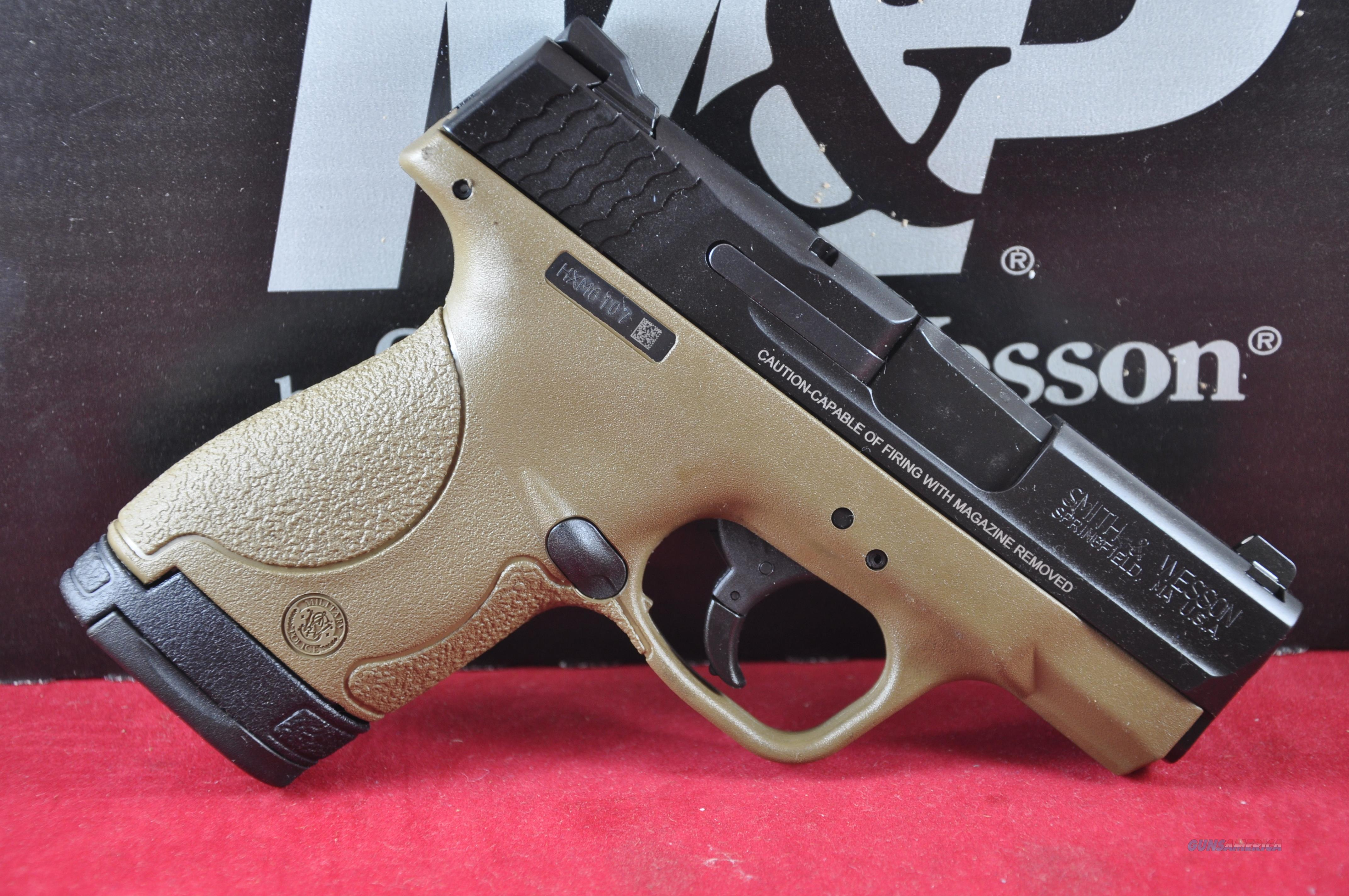 "S&W M&P9 Shield 9mm Flat Dark Earth FDE 3.1"" New Layaway $75 Mail-in Rebate 10303  Guns > Pistols > Smith & Wesson Pistols - Autos > Shield"