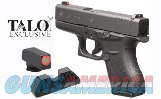Glock 43 Talo 9mm NS 6+1 Layaway NoCCFee UI4350501  Guns > Pistols > Glock Pistols > 43