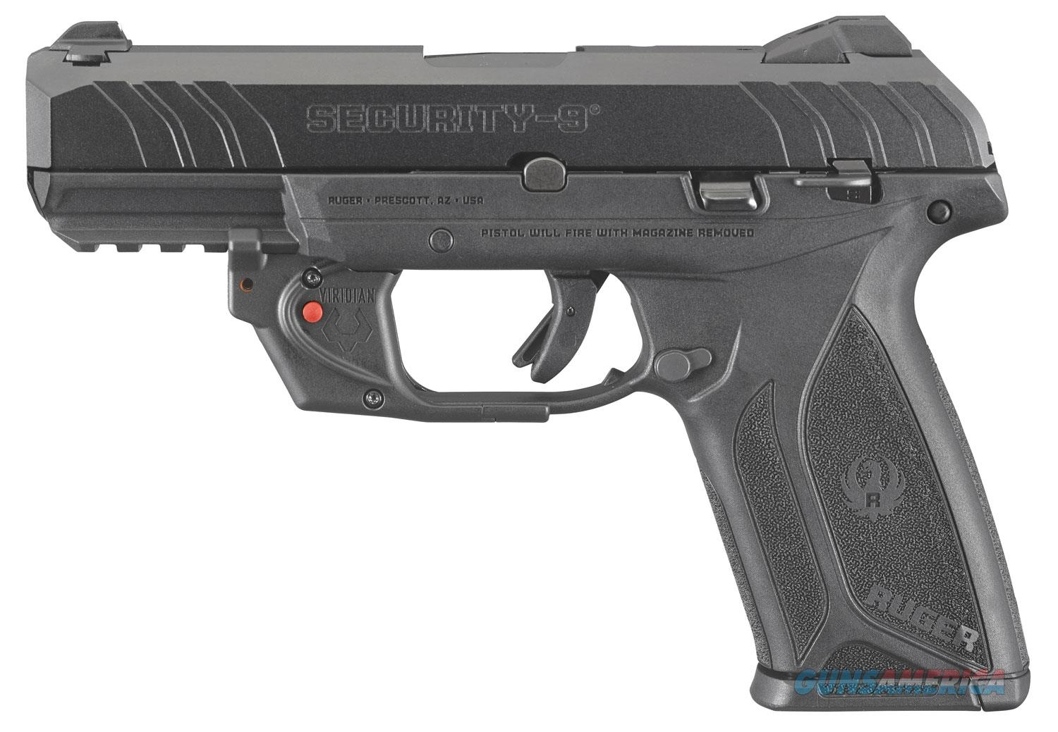 "Ruger Security-9 9mm 4"" LaserGuard Layaway NoCCFee 3816  Guns > Pistols > Ruger Semi-Auto Pistols > Security 9"