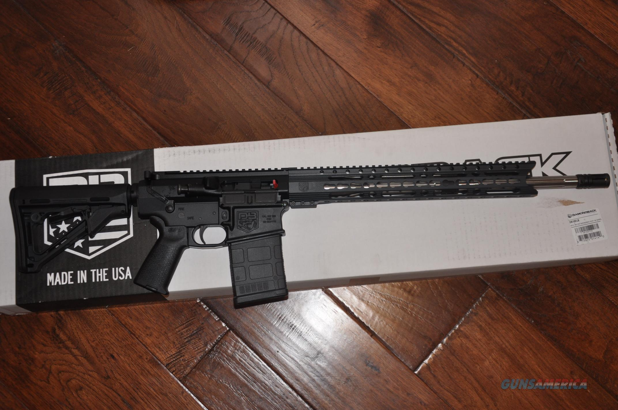 Diamondback DB10 Elite BLK/SS .308WIN Layaway NoCCFee DB10ELB  Guns > Rifles > Diamondback Rifles