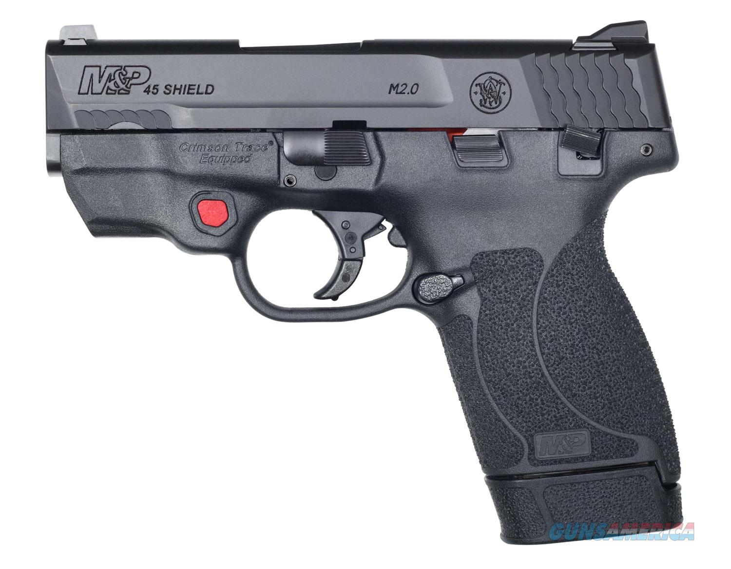 S&W Shield M2.0 45ACP Red Laser 7+1 Layaway NoCCFee 12087  Guns > Pistols > Smith & Wesson Pistols - Autos > Shield