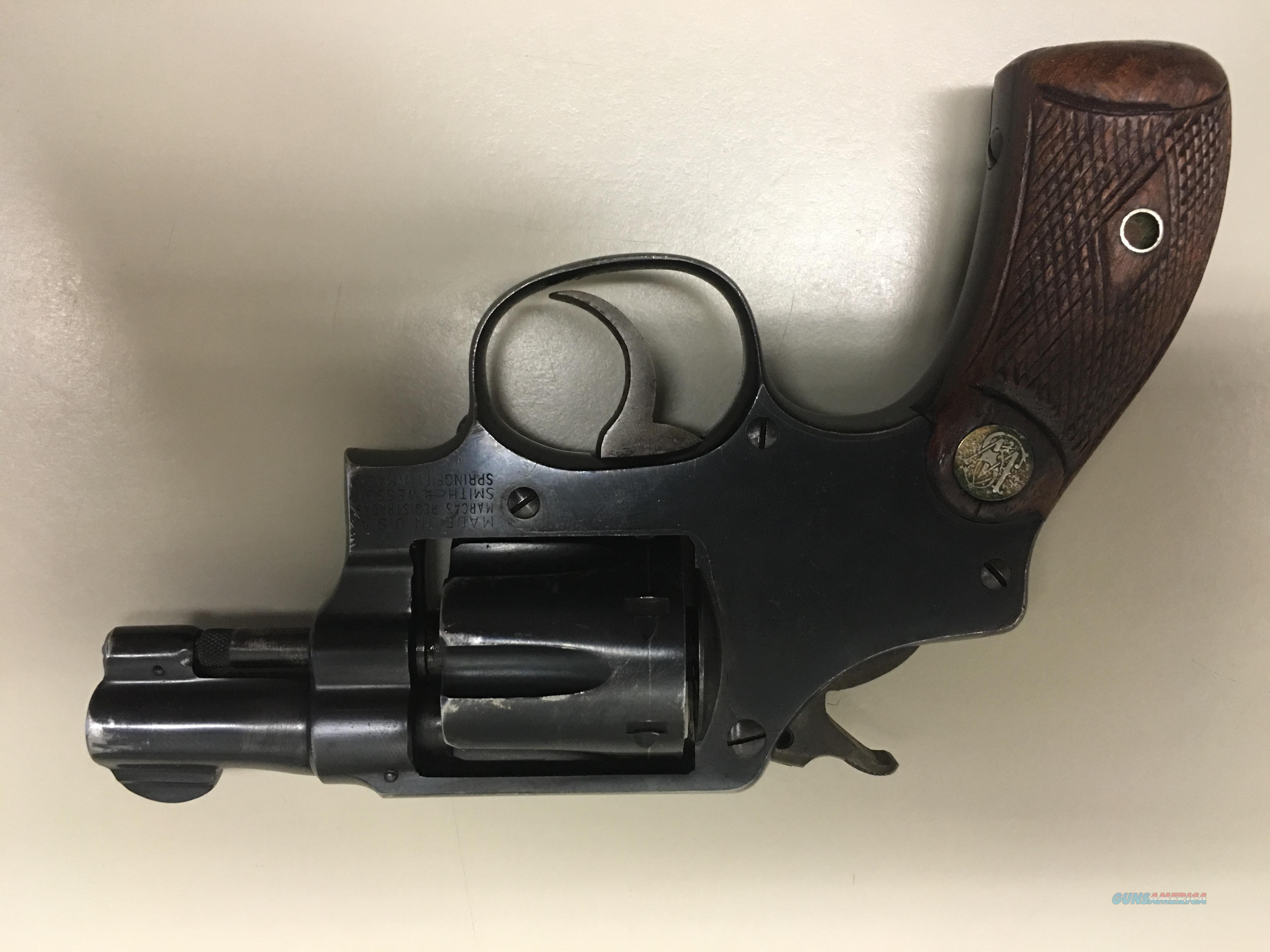 """Pre-Model 30"" .32 Hand Ejector, 2 inch, 5 screw - 1948  Guns > Pistols > Smith & Wesson Revolvers > Full Frame Revolver"