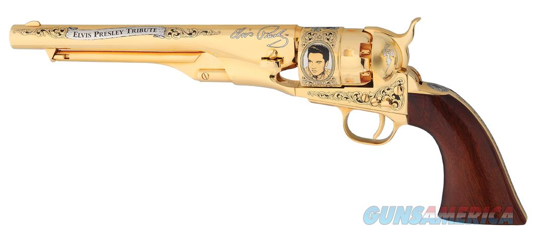 Elvis Presley Tribute 1860 Revolver by America Remembers Brand New!  Guns > Pistols > A Misc Pistols