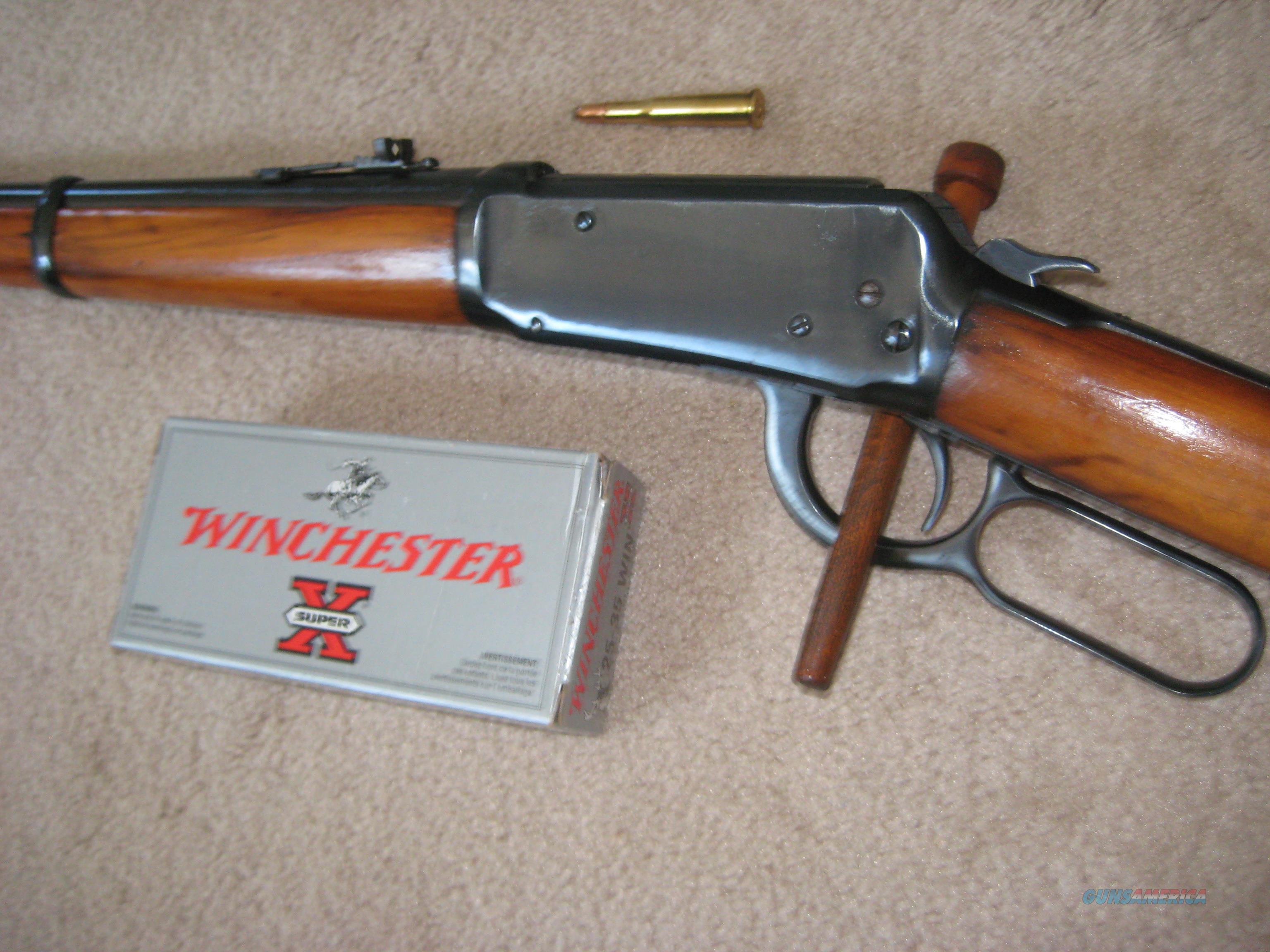 WINCHESTER 1894 Caliber 25-35  Guns > Rifles > Winchester Rifles - Modern Lever > Model 94 > Pre-64