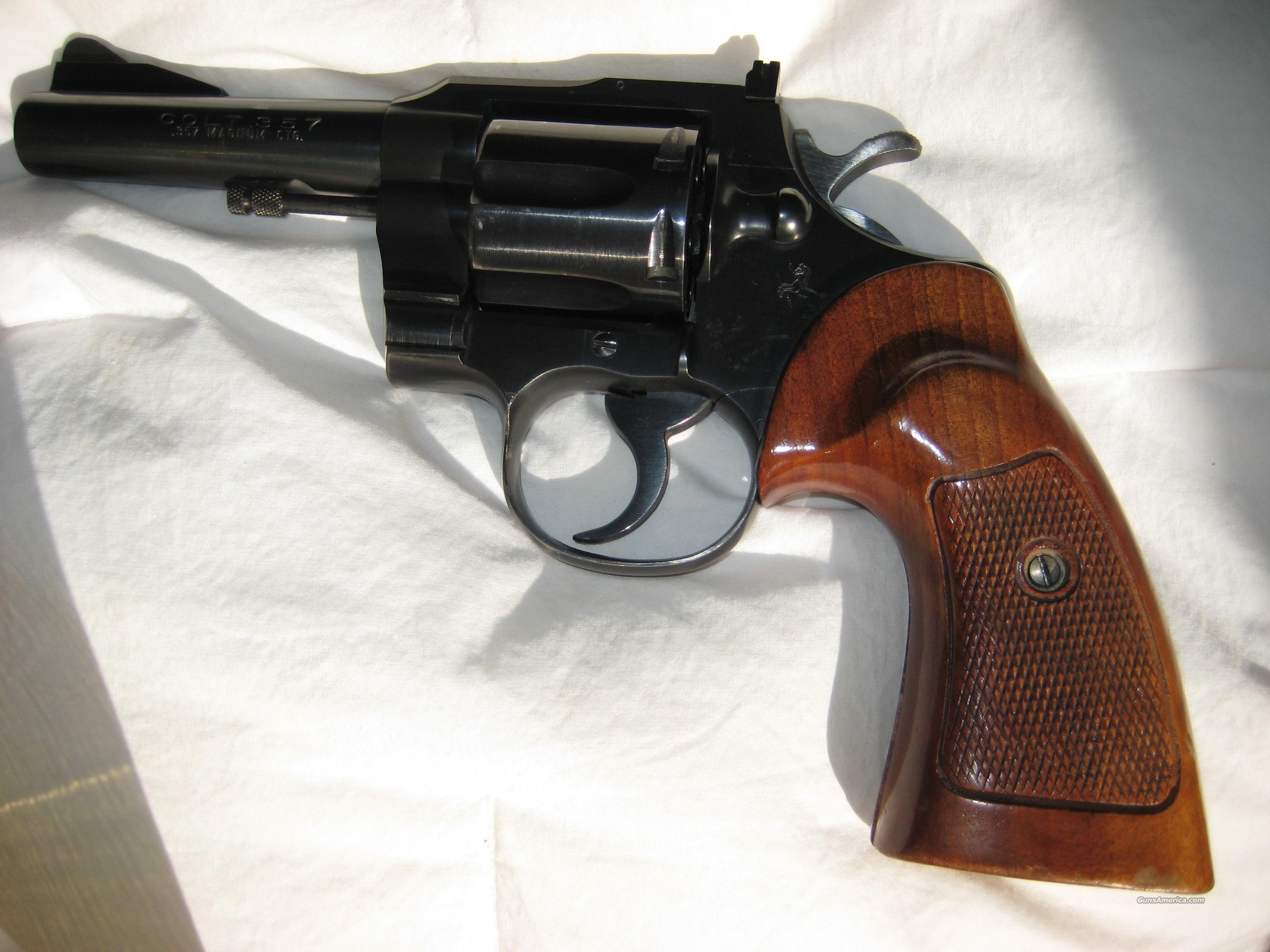 COLT THREE-FIFTY-SEVEN, pre-Trooper  Guns > Pistols > Colt Double Action Revolvers- Modern