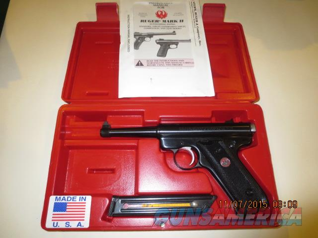 RUGER II 50TH ANNIVERSARY 1949/1999  Guns > Pistols > Ruger Semi-Auto Pistols > Mark I/II/III Family