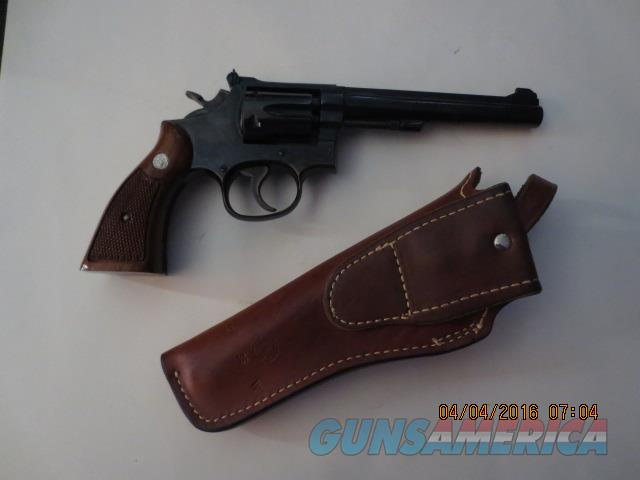 SMITH & WESSON MODEL 17-4 REVOLVER  Guns > Pistols > Smith & Wesson Revolvers > Full Frame Revolver