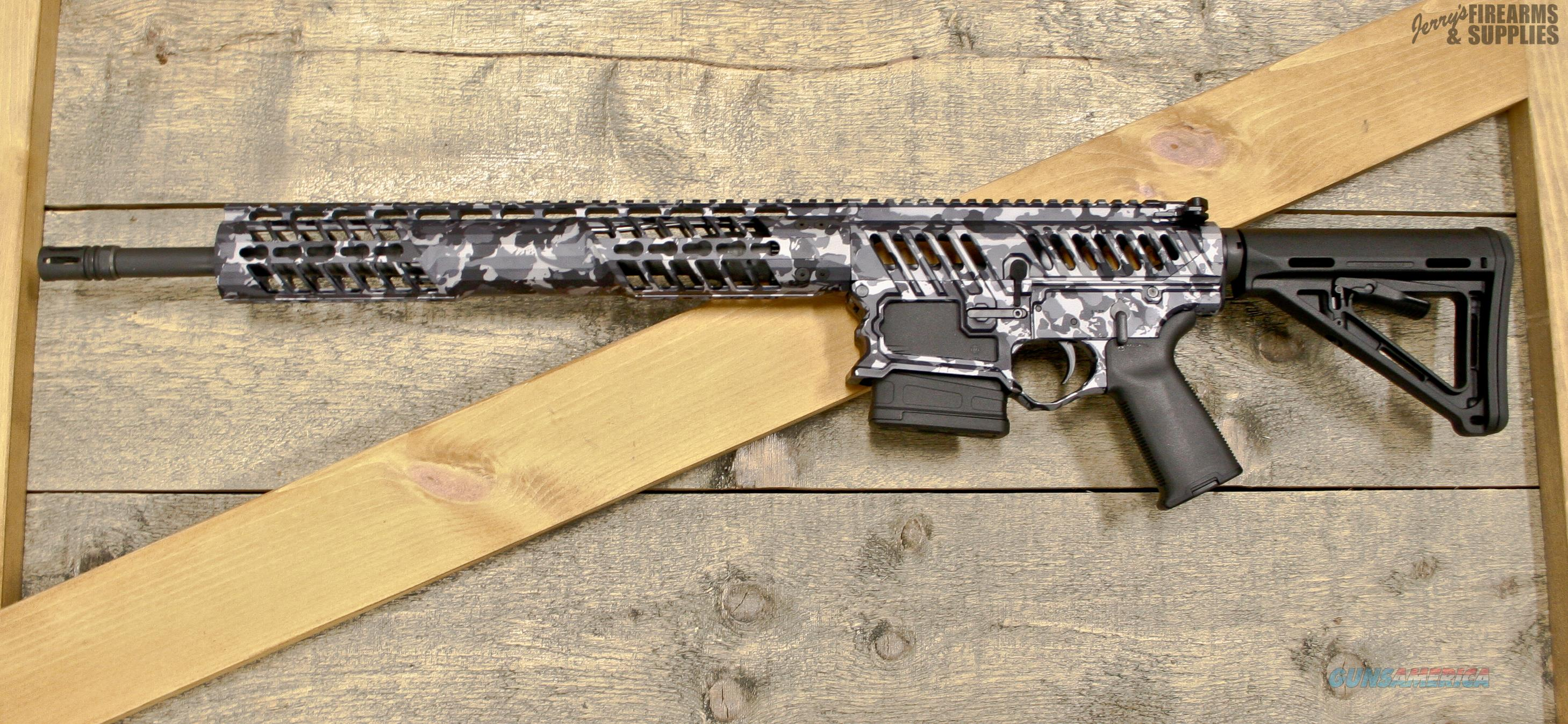 Urban Camo F-1 Firearms Skeletonized 308/AR-10 Tack Driver   Guns > Rifles > AR-15 Rifles - Small Manufacturers > Complete Rifle