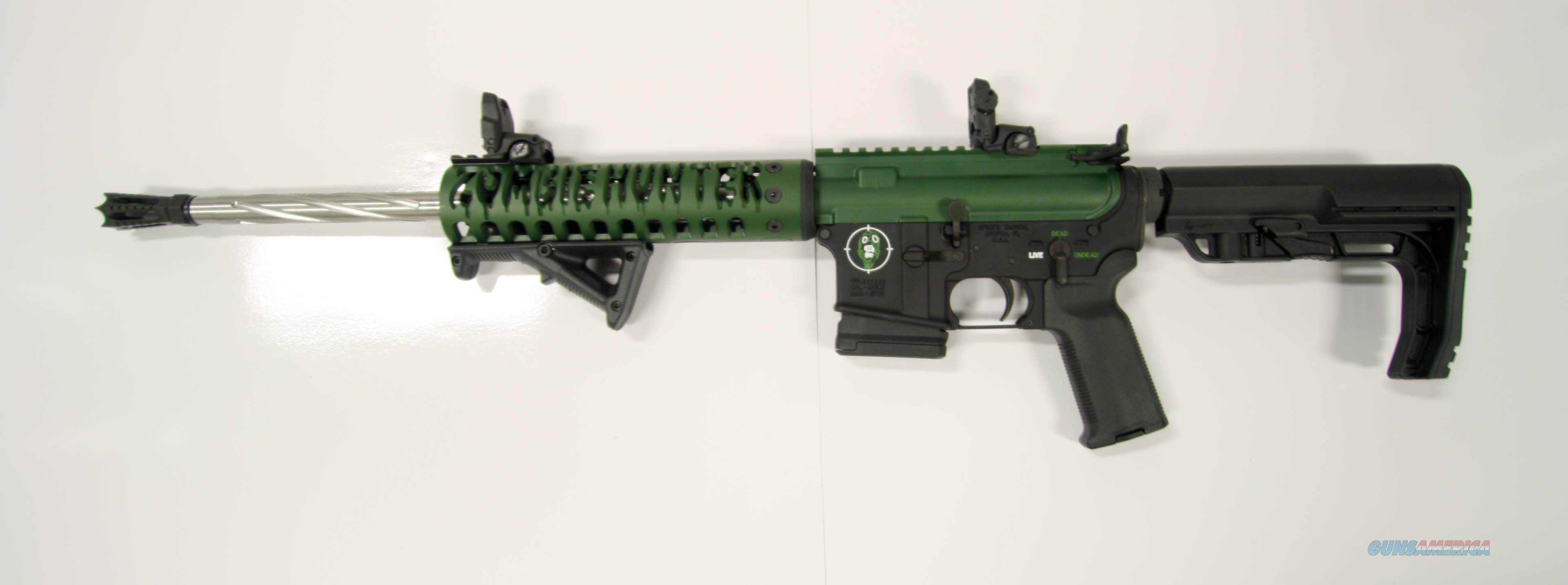 """Never Fired"" Spikes AR15 ""Custom"" Green Zombie  Guns > Rifles > AR-15 Rifles - Small Manufacturers > Complete Rifle"