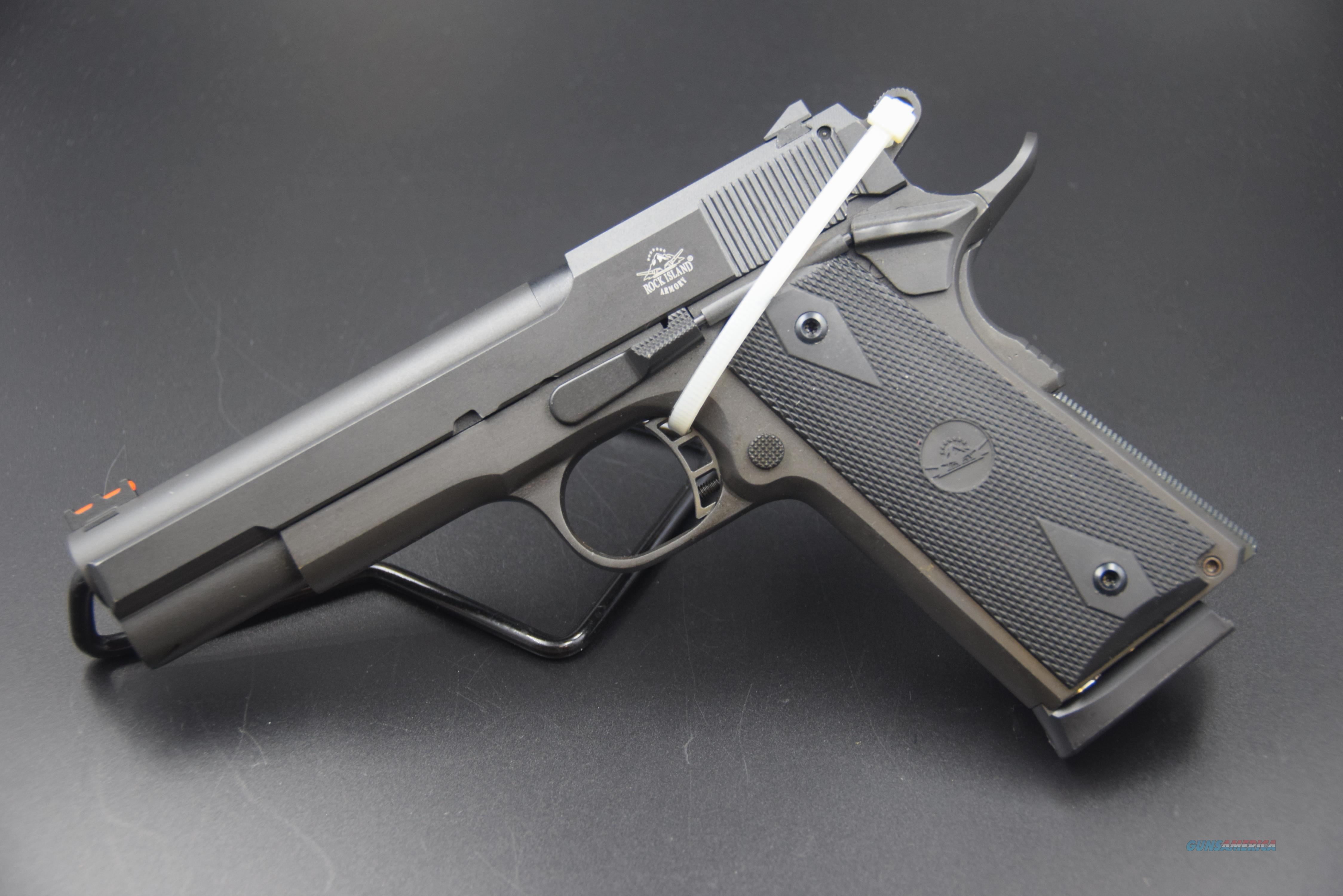 .22 MAGNUM 1911-A1 PISTOL BY ROCK INSLAND ARMORY -- REDUCED WITH SHIPPING  Guns > Pistols > Rock Island Armory Pistols > Rock Island