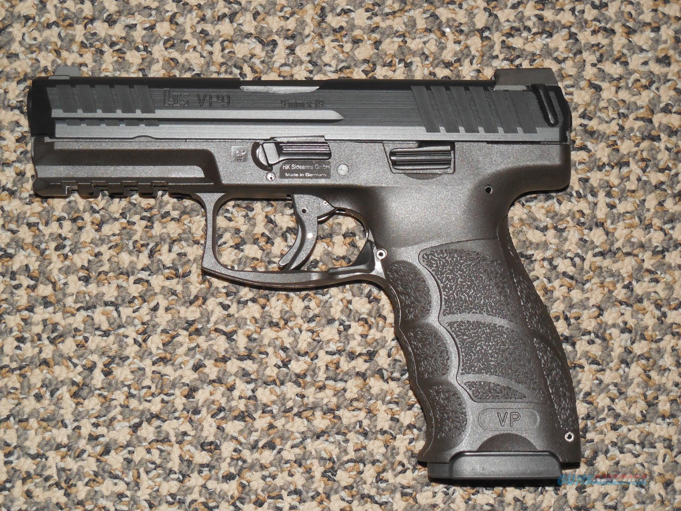 HK VP-9 LE PISTOL IN 9 MM WITH THREE MAGS AND NIGHT SIGHTS  Guns > Pistols > Heckler & Koch Pistols > Polymer Frame