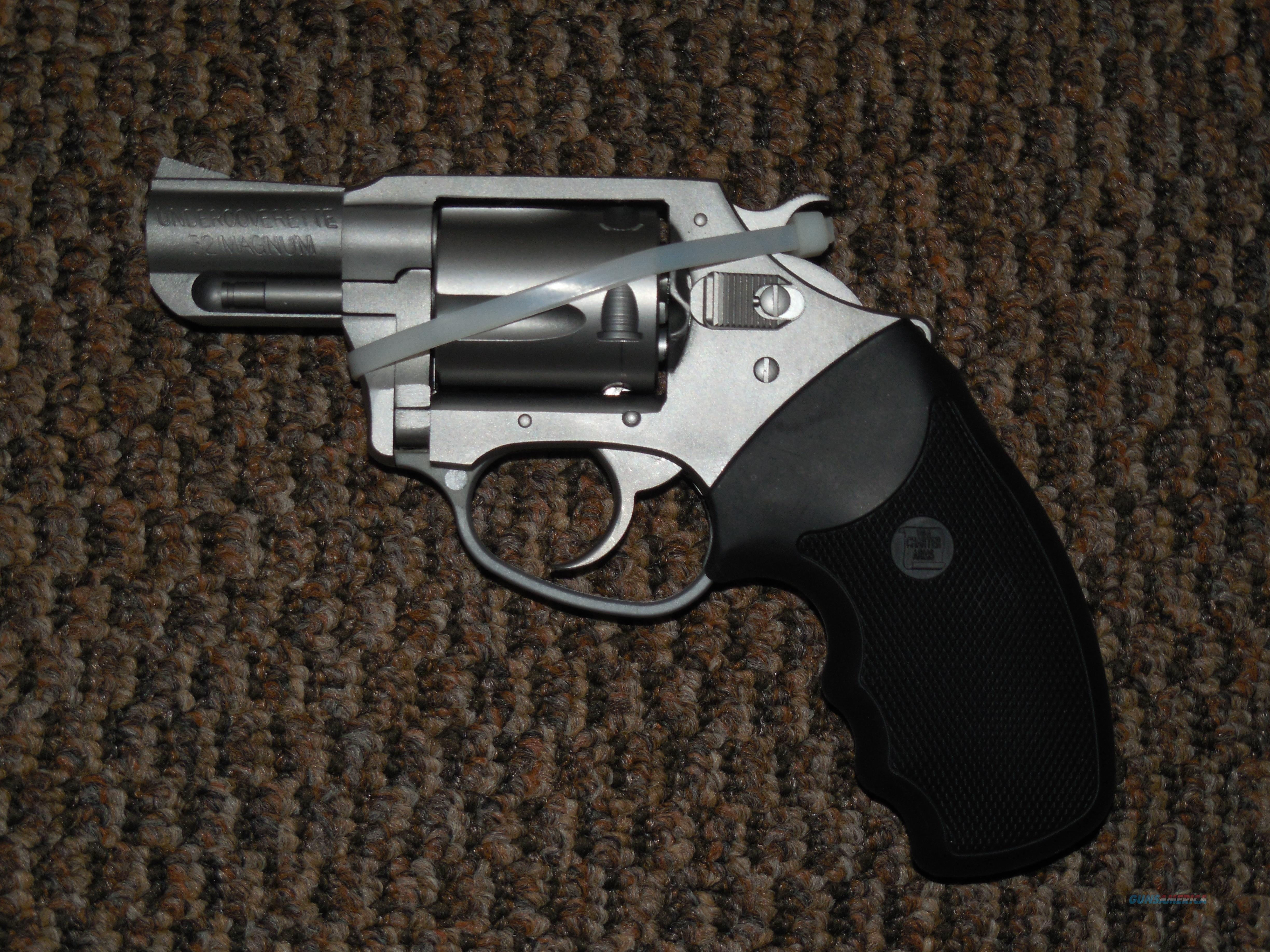 CHARTER ARMS UNDERCOVER REVOLVER IN .32 H&R MAGNUM!  Guns > Pistols > Charter Arms Revolvers