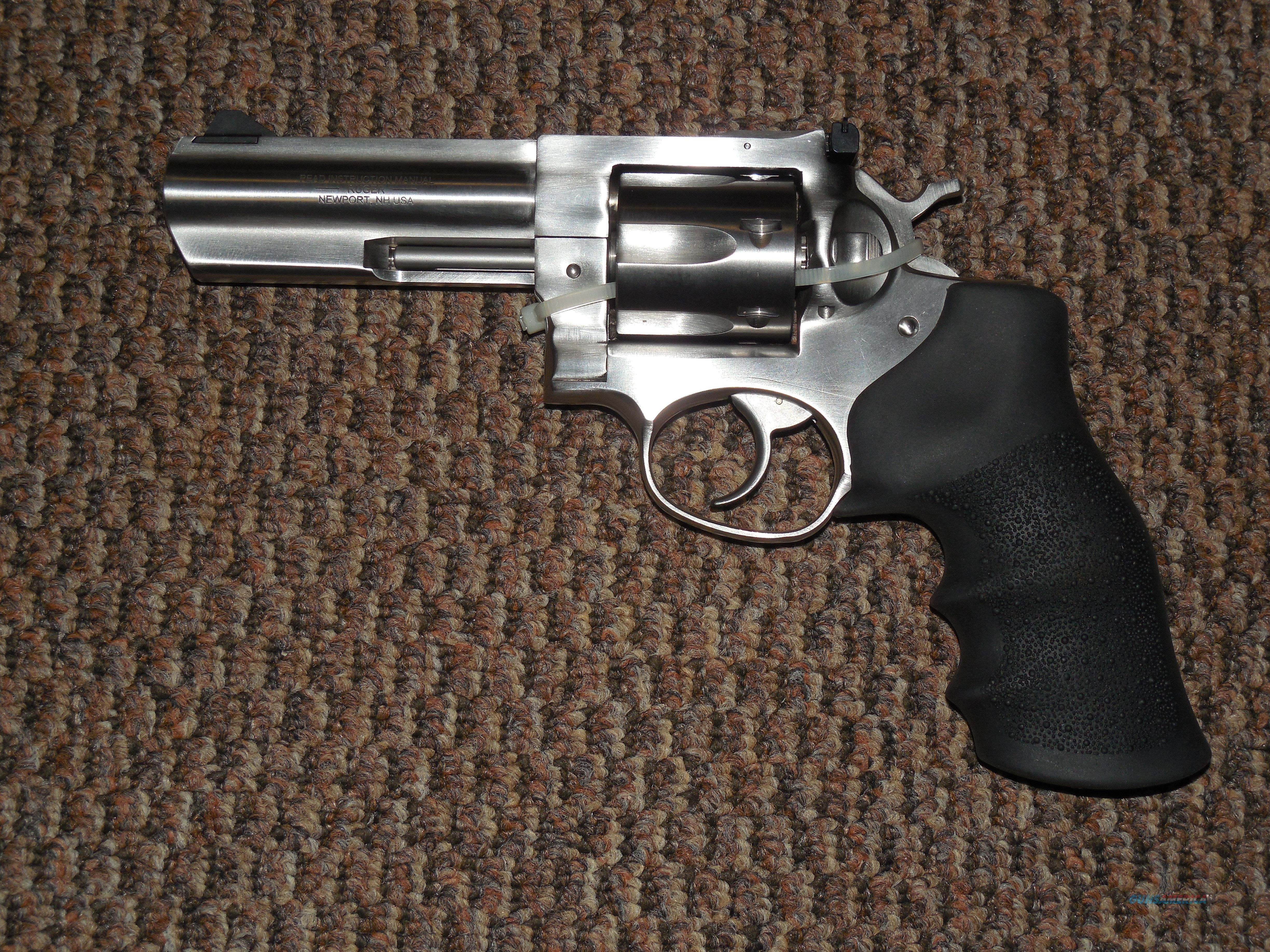 RUGER  GP-100 FOUR-INCH STAINLESS .357 MAGNUM  Guns > Pistols > Ruger Double Action Revolver > GP100