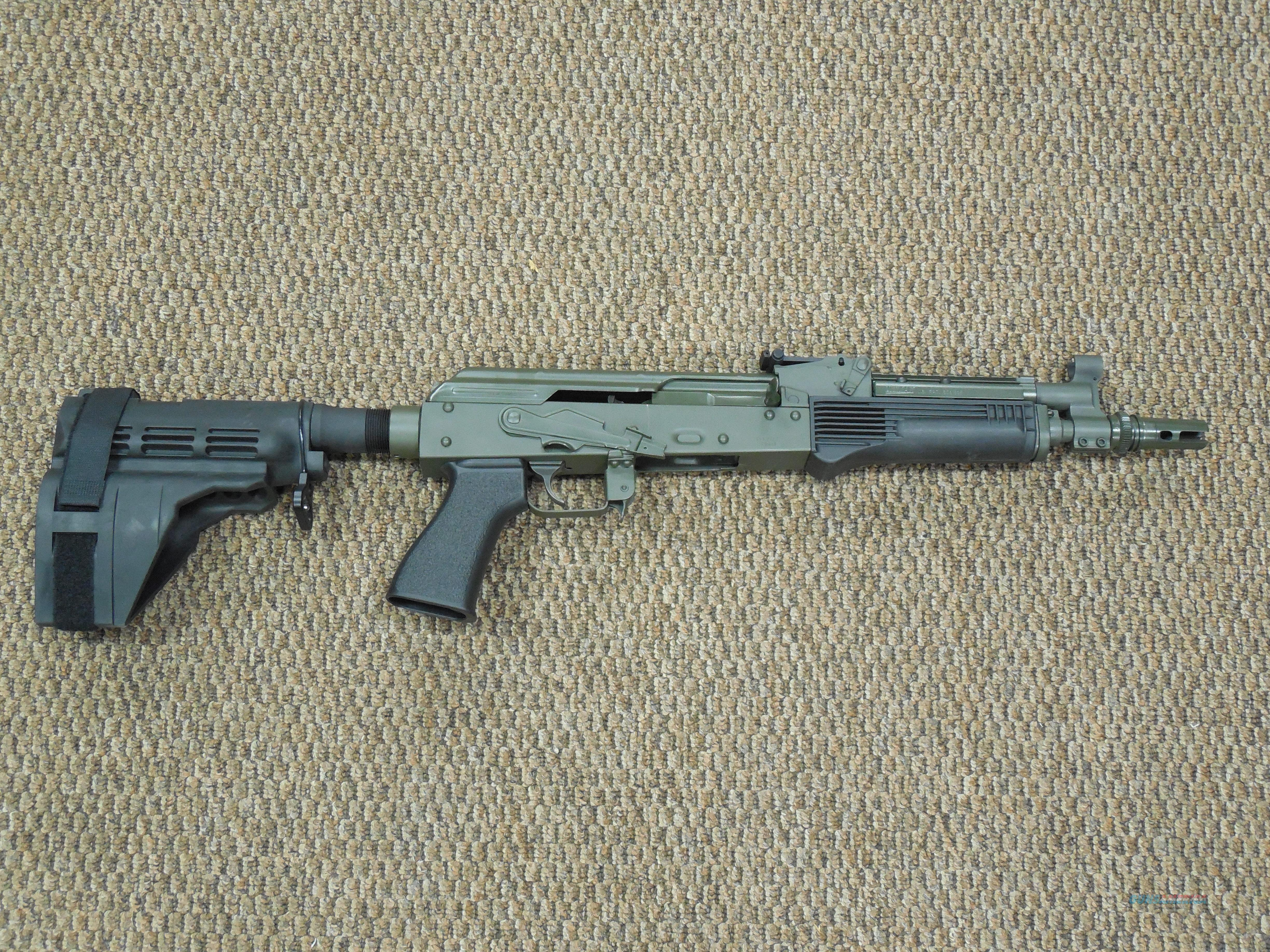 RIFLE DYNAMICS AK PISTOL (Model ME-SA58) in 7.62x39mm  Guns > Pistols > Custom Pistols > Other