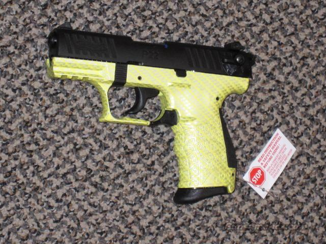 "WALTHER P-22 TALO  GROUP ""LIME GREEN""   Guns > Pistols > Walther Pistols > Post WWII > P22"
