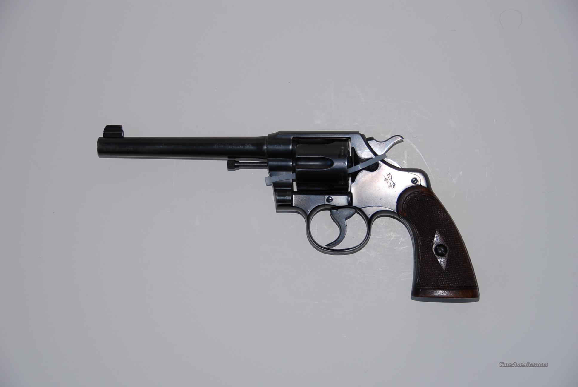 Army Special, 6-1/-inch  Guns > Pistols > Colt Double Action Revolvers- Pre-1945