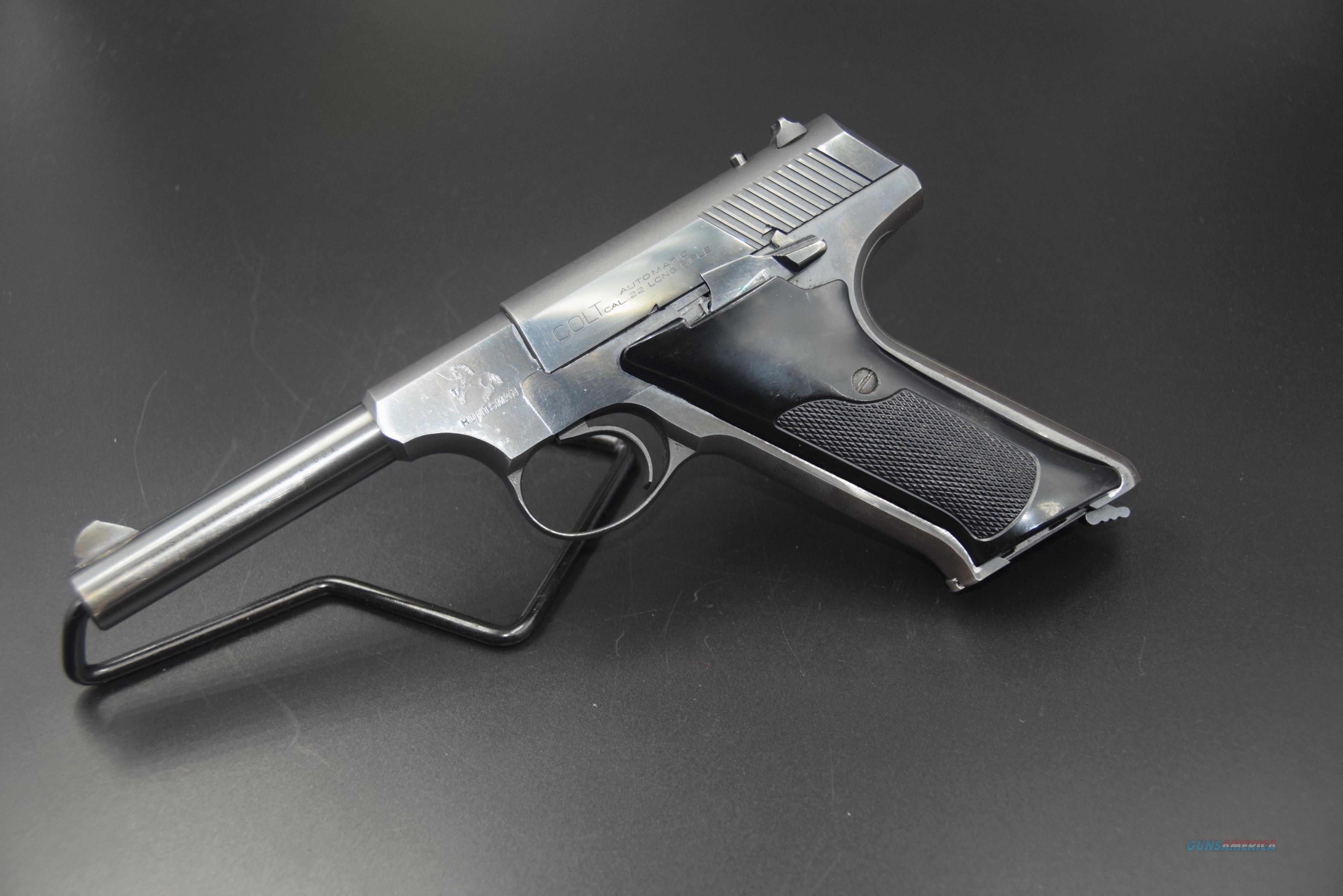 COLT HUNTSMAN .22 LR TARGET PISTOL -- REDUCED!  Guns > Pistols > Colt Automatic Pistols (22 Cal.)