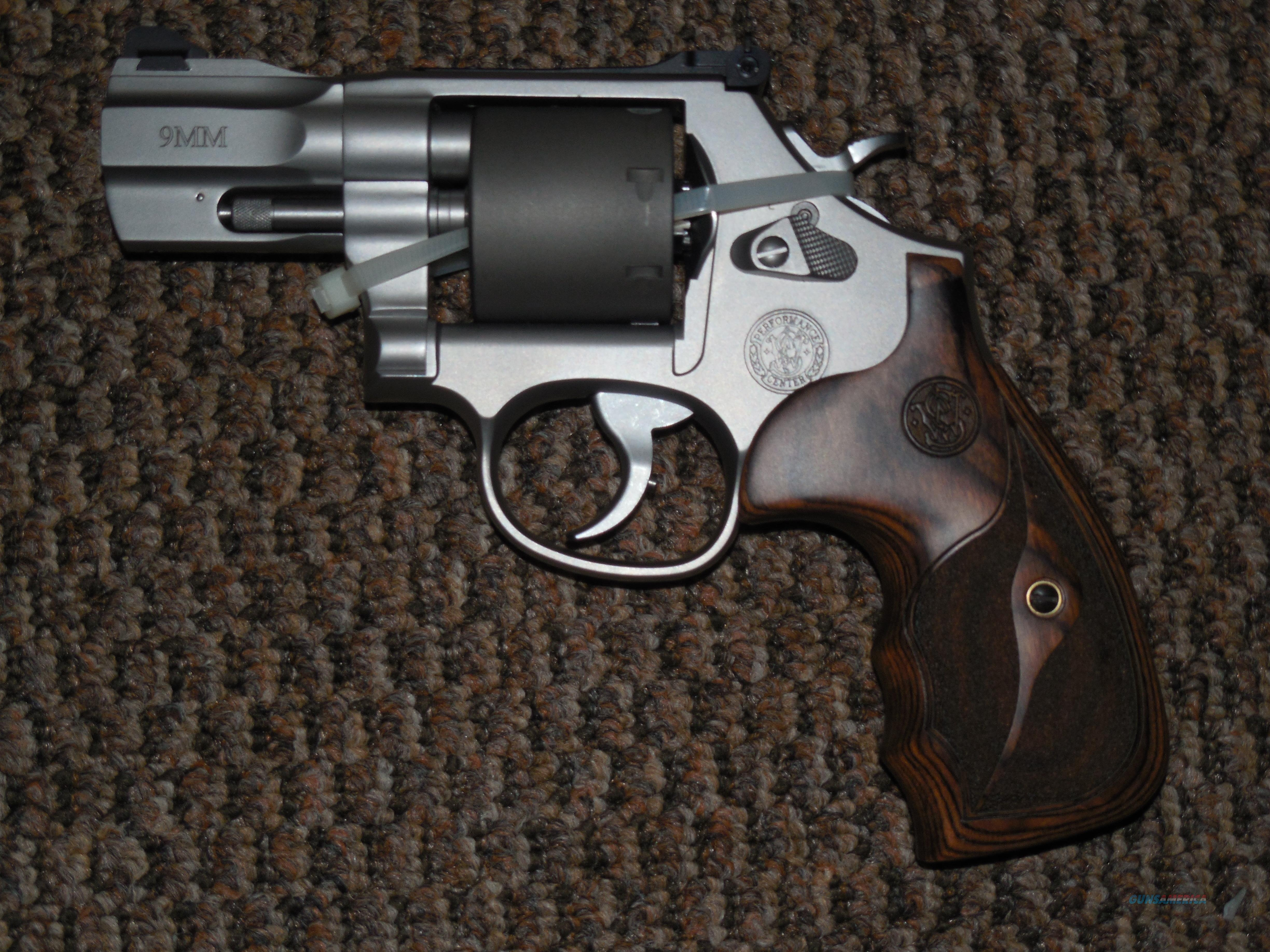 S&W MODEL 986 PERFORMNCE CENTER 9 MM REVOLVER WITH 2-5/8 INCH SLABSIDE BARREL  Guns > Pistols > Smith & Wesson Revolvers > Performance Center