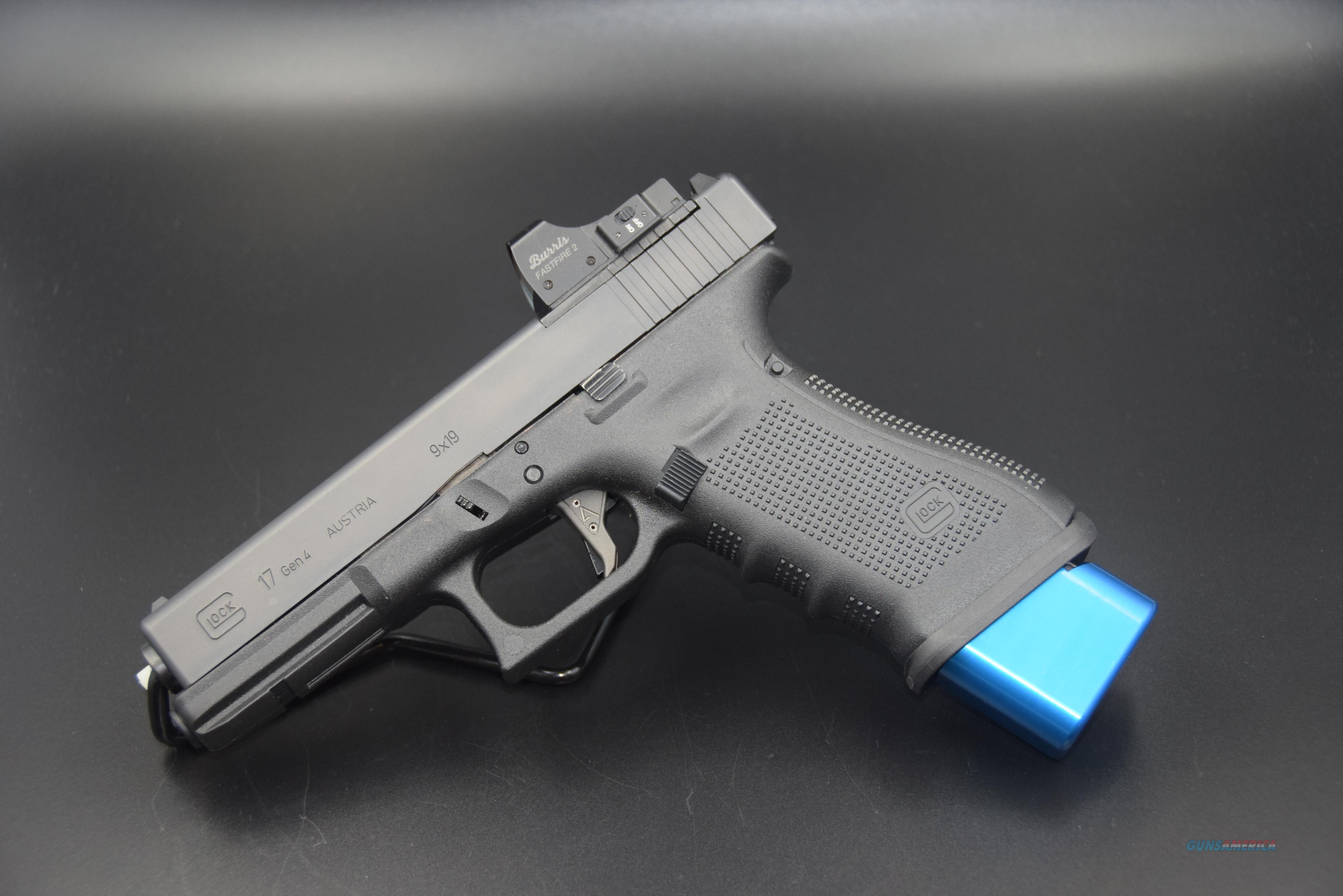 CUSTOM GLOCK 17 MOS (OPTICS HAVE BEEN REMOVED!) and OTHER UPGRADES -- REDUCED WITH SHIPPING  Guns > Pistols > Glock Pistols > 17