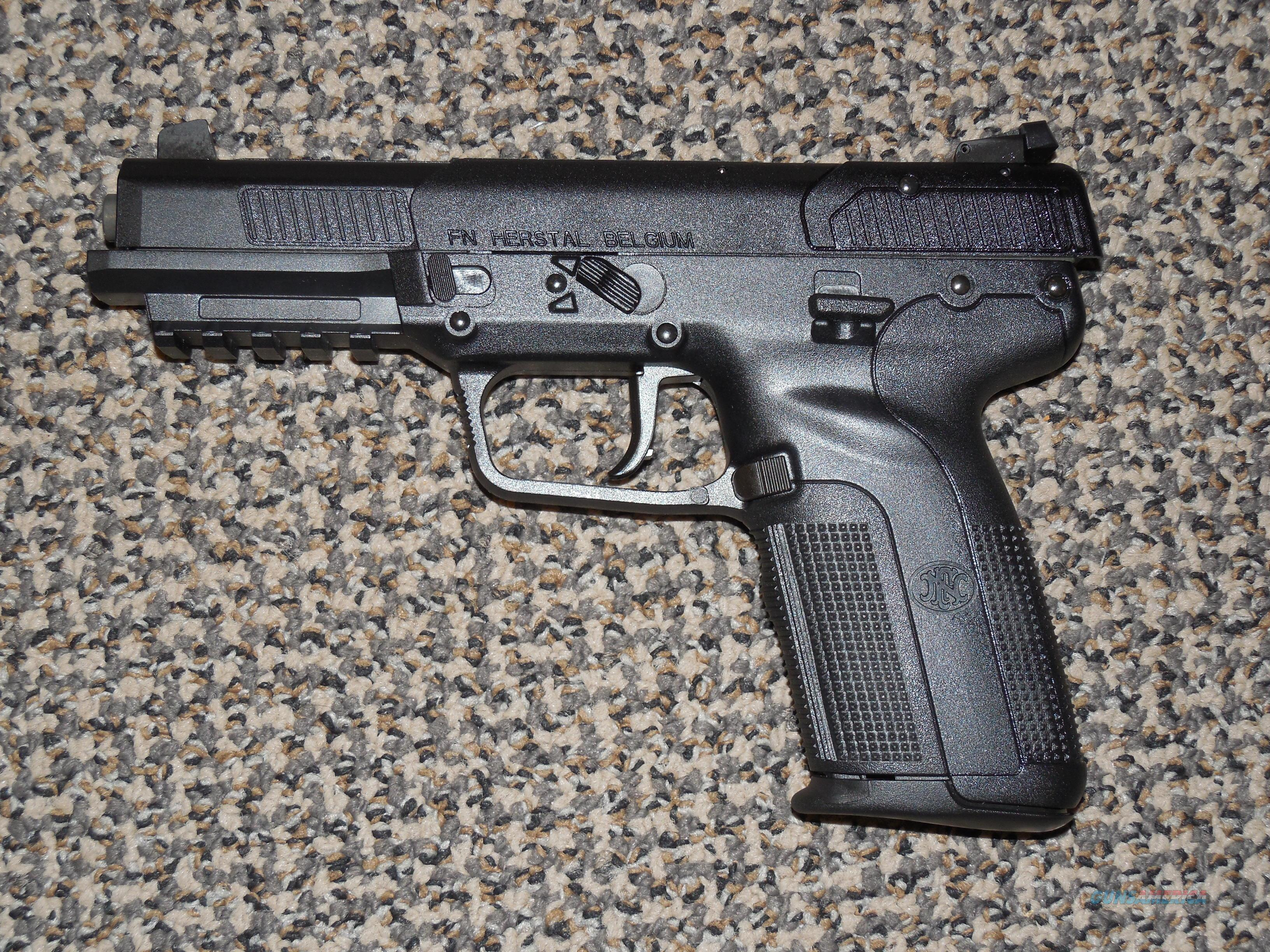 FN FIVE-SEVEN PISTOL IN ALL BLACK  Guns > Pistols > FNH - Fabrique Nationale (FN) Pistols > FiveSeven